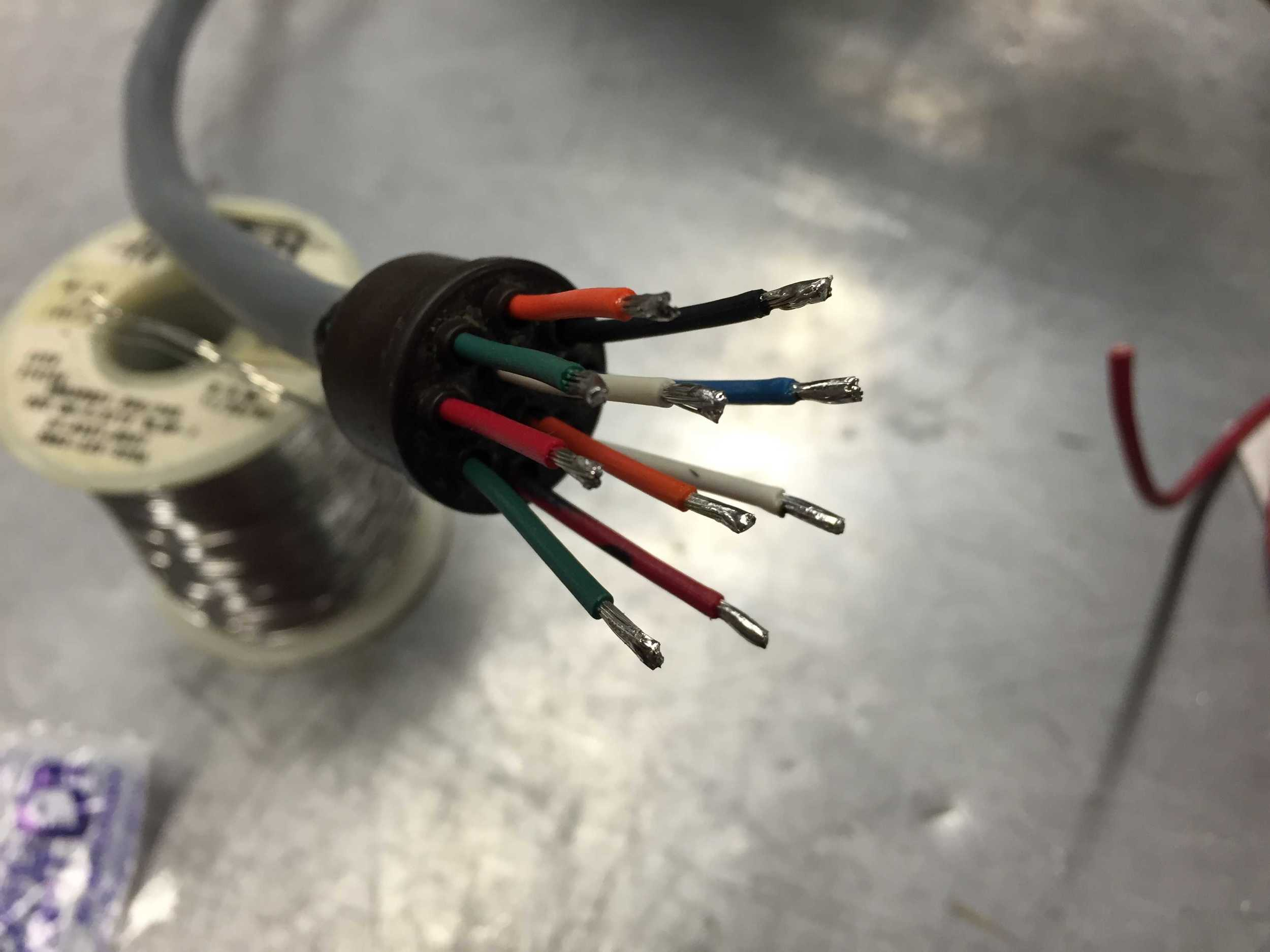 Encoder cable.