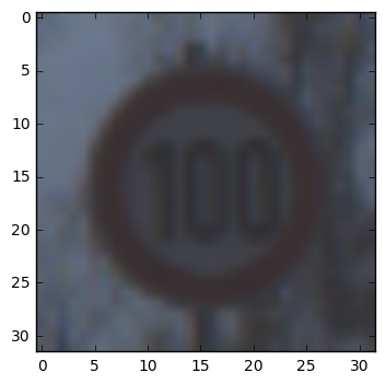 Brighter speed limit image (not used by classifier)