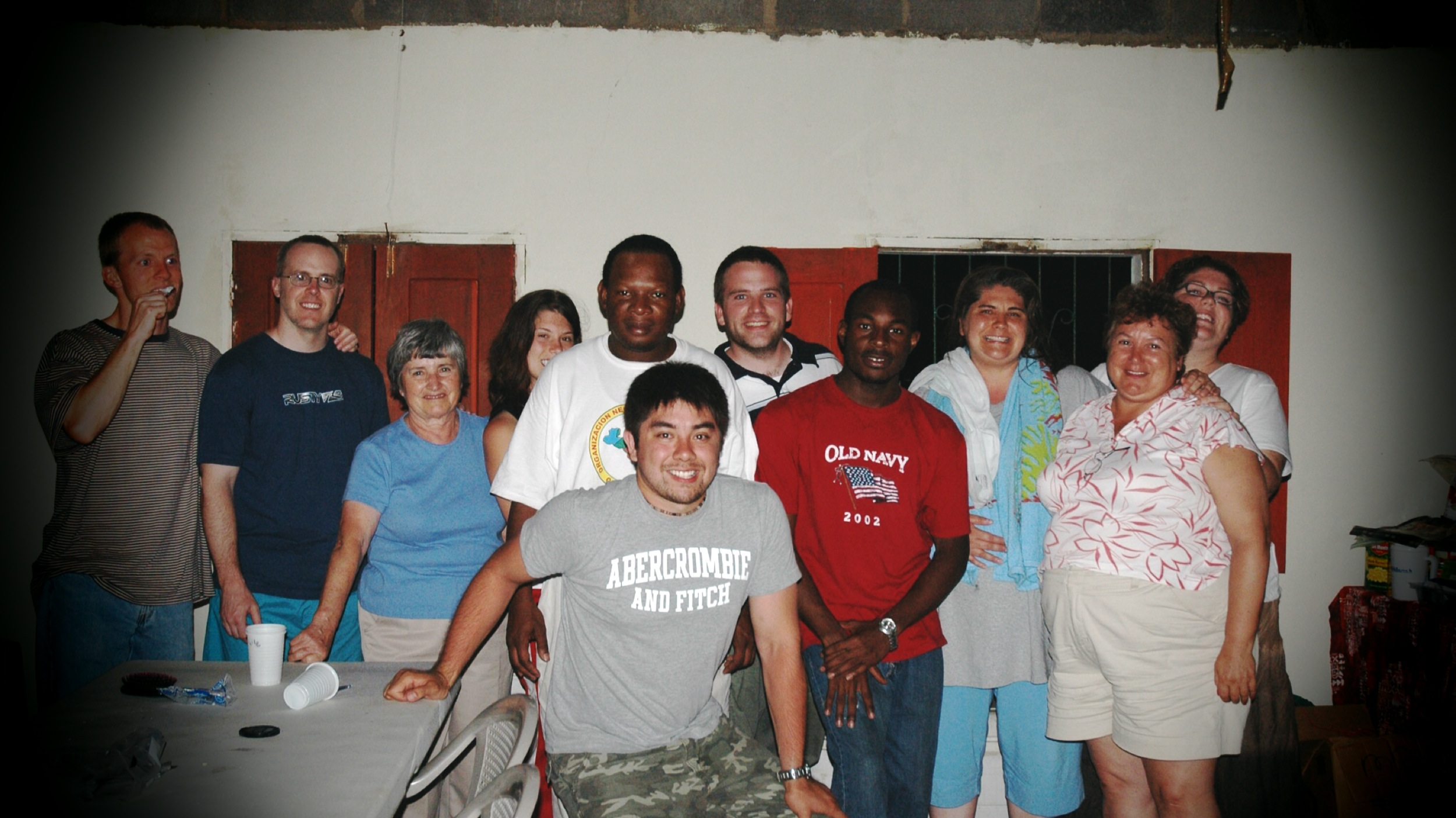 Mission Trip with Morning Star Church in Tampa. Circa 2006
