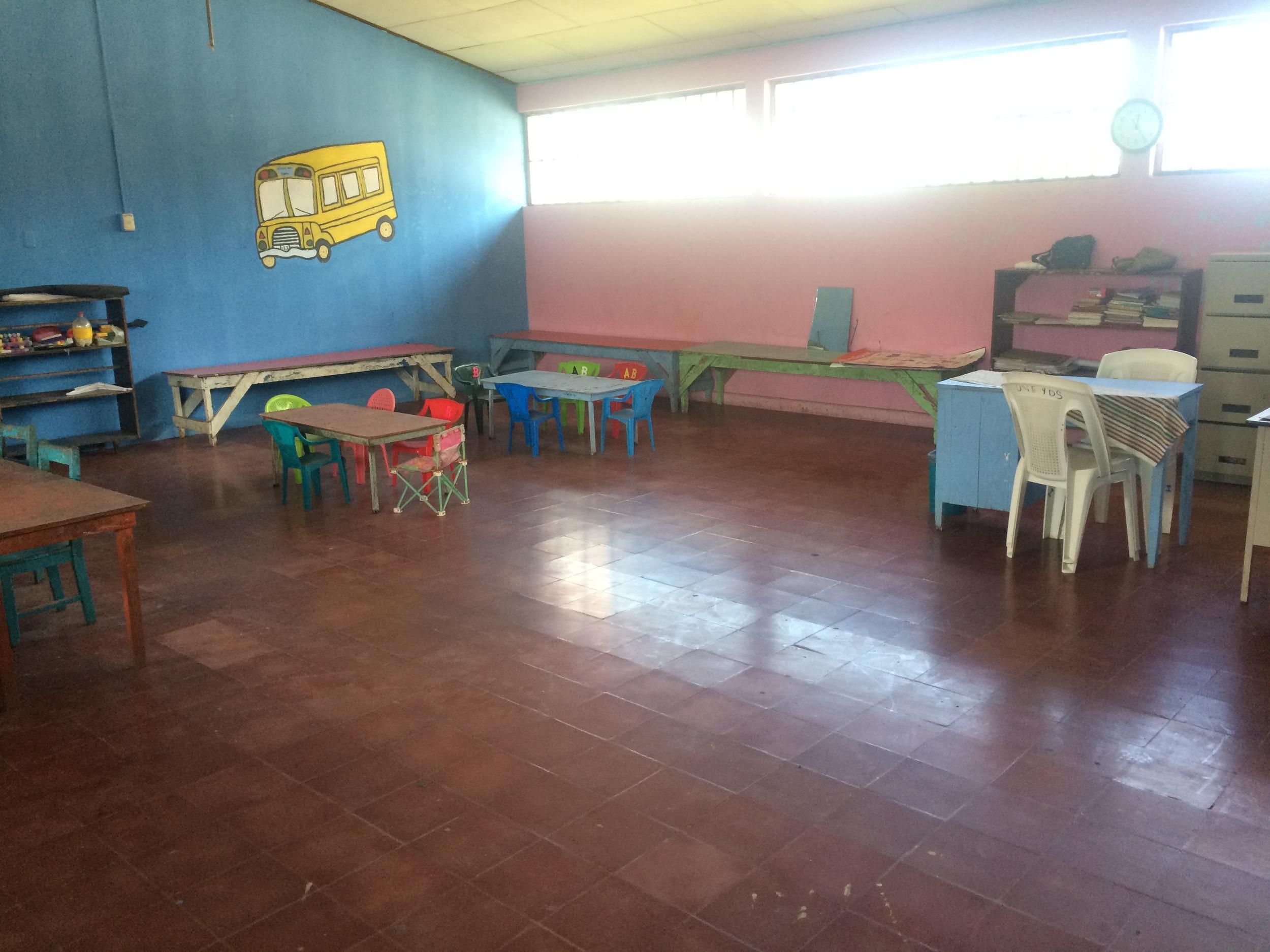 Connect Global Dinaf Visit school room
