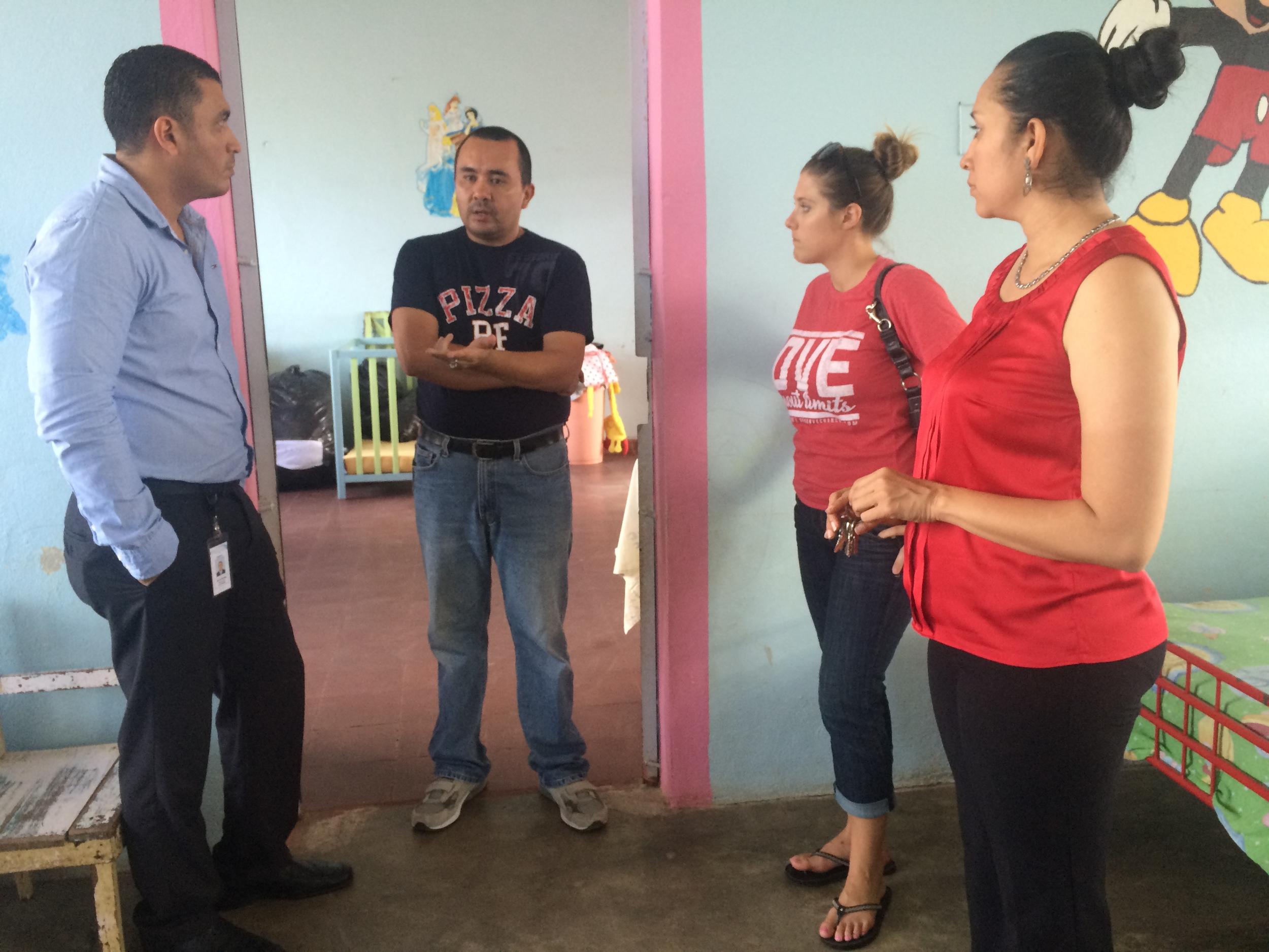 Dinaf Visit La Ceiba Honduras Meeting with Regional Director