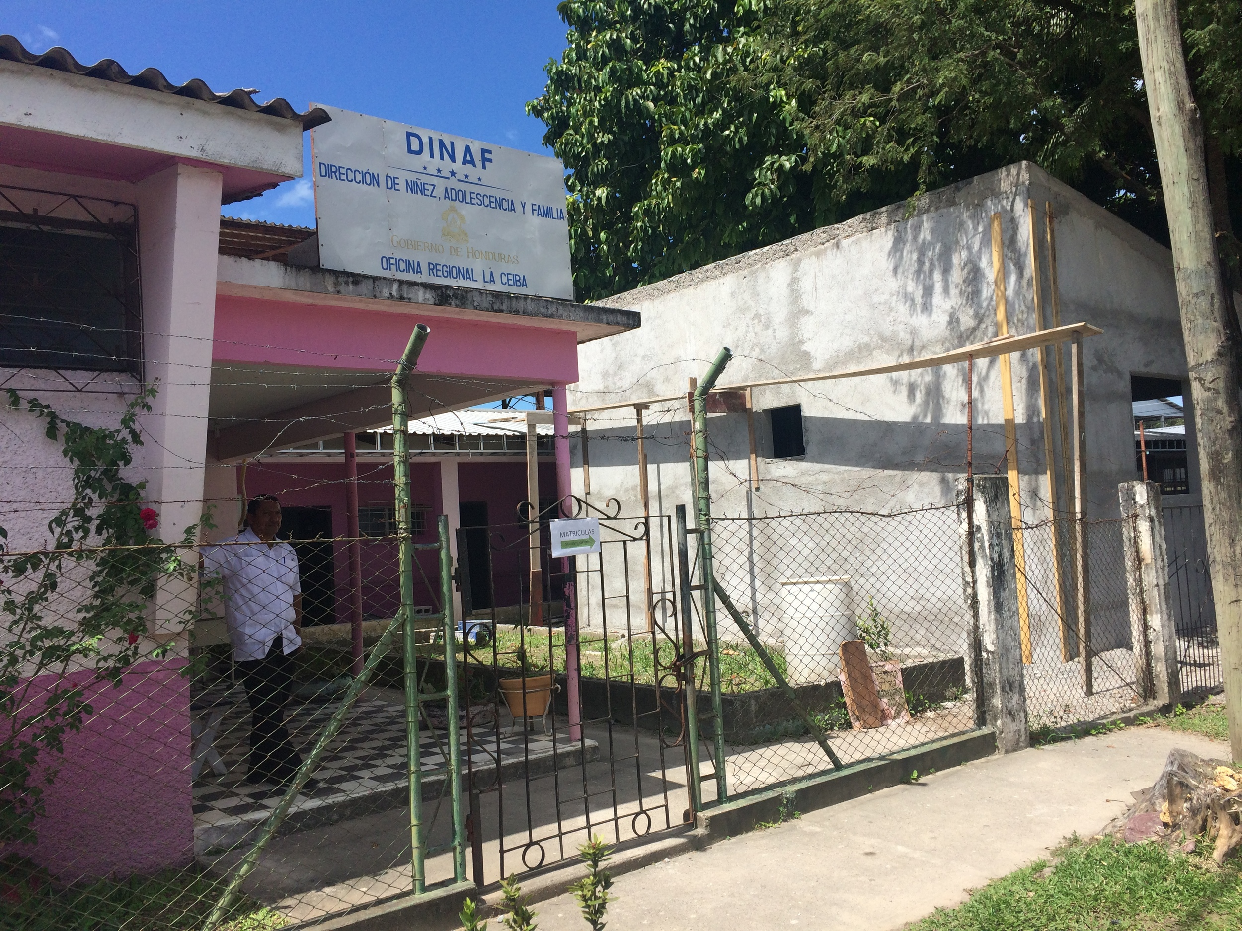 Dinaf Visit La Ceiba Honduras Main Entrance