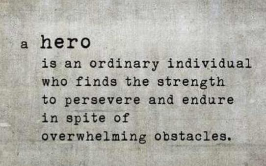 goservechange :     Do you know any heroes?     Who is your hero.