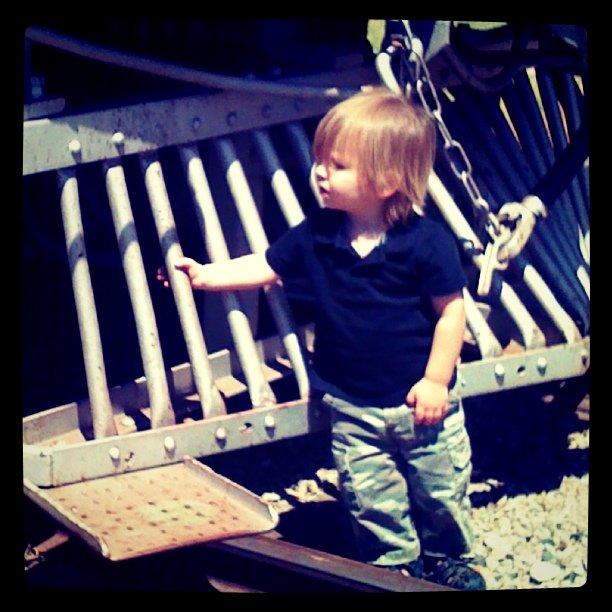 Noah stopped a train today