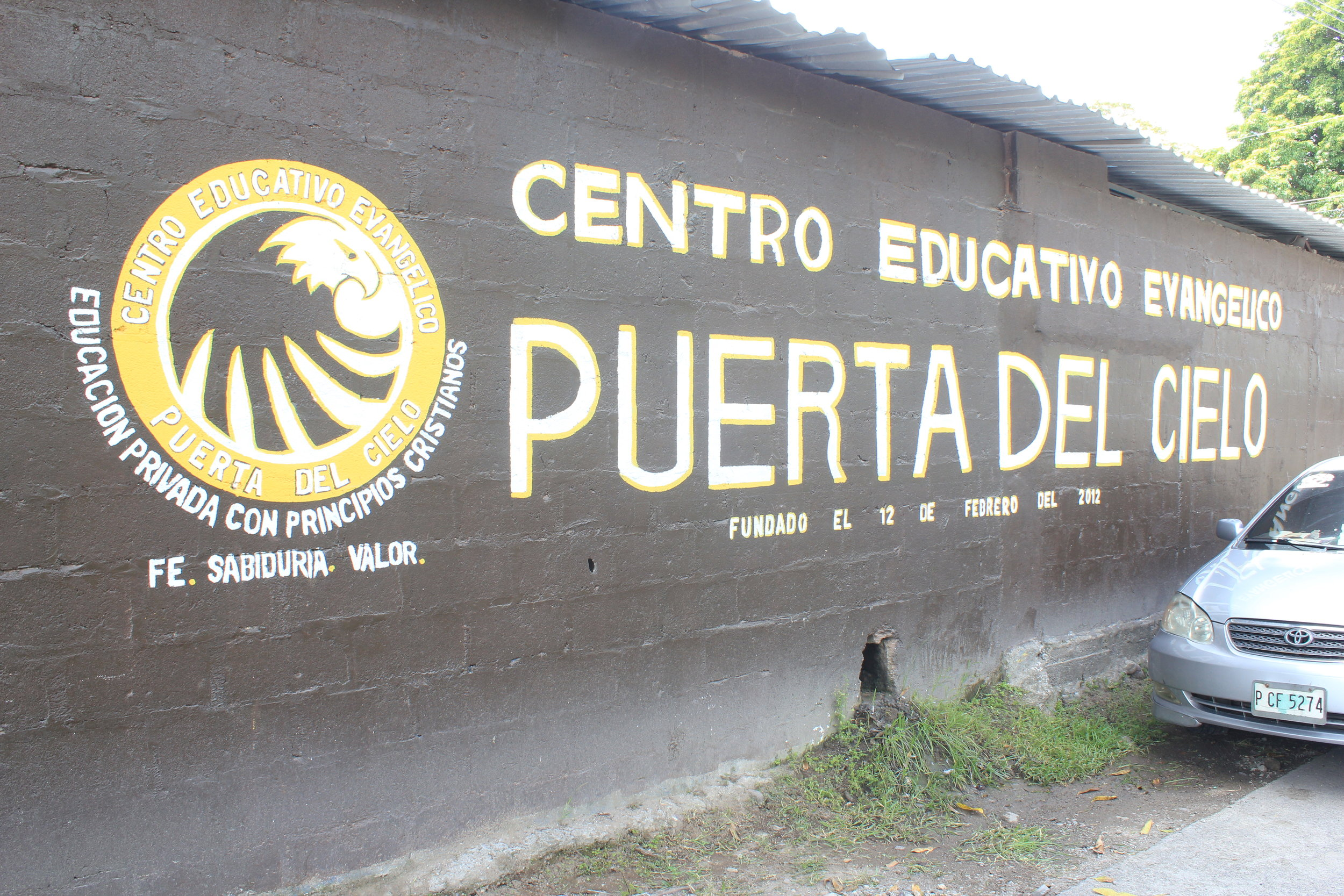 The Outside Wall of Puerto Del Cielo