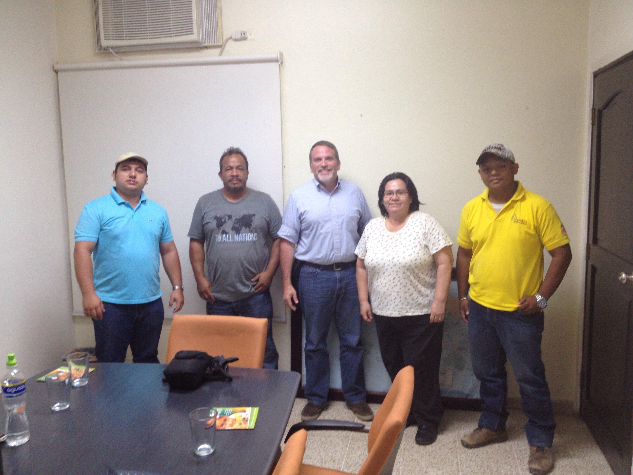 Leonel A. Moncada, Jorge Amador, Travis Moffitt, Nelly Martinica, Richar Maximiliano,
