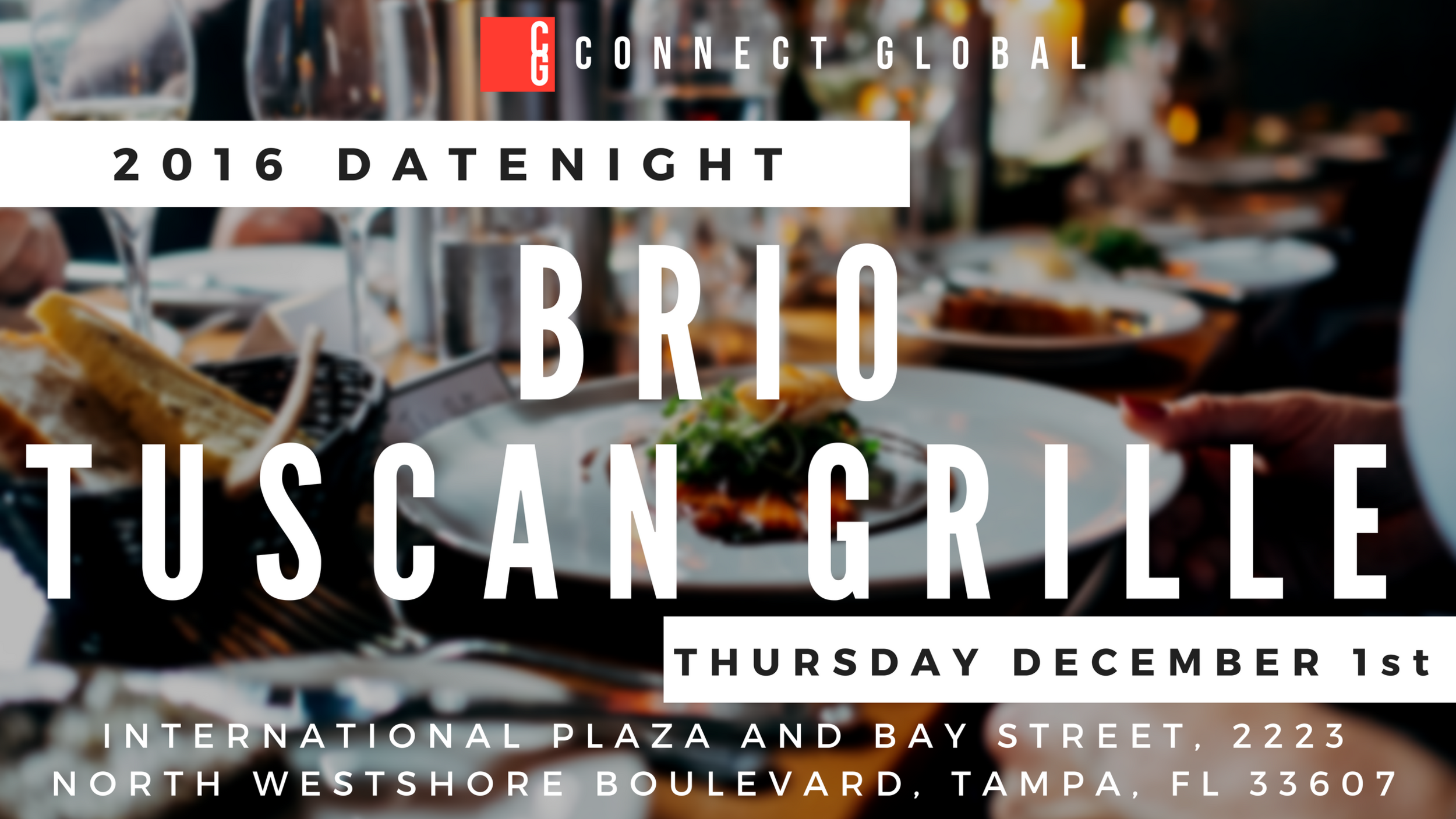 Connect Global DateNight 2016 - December 1st