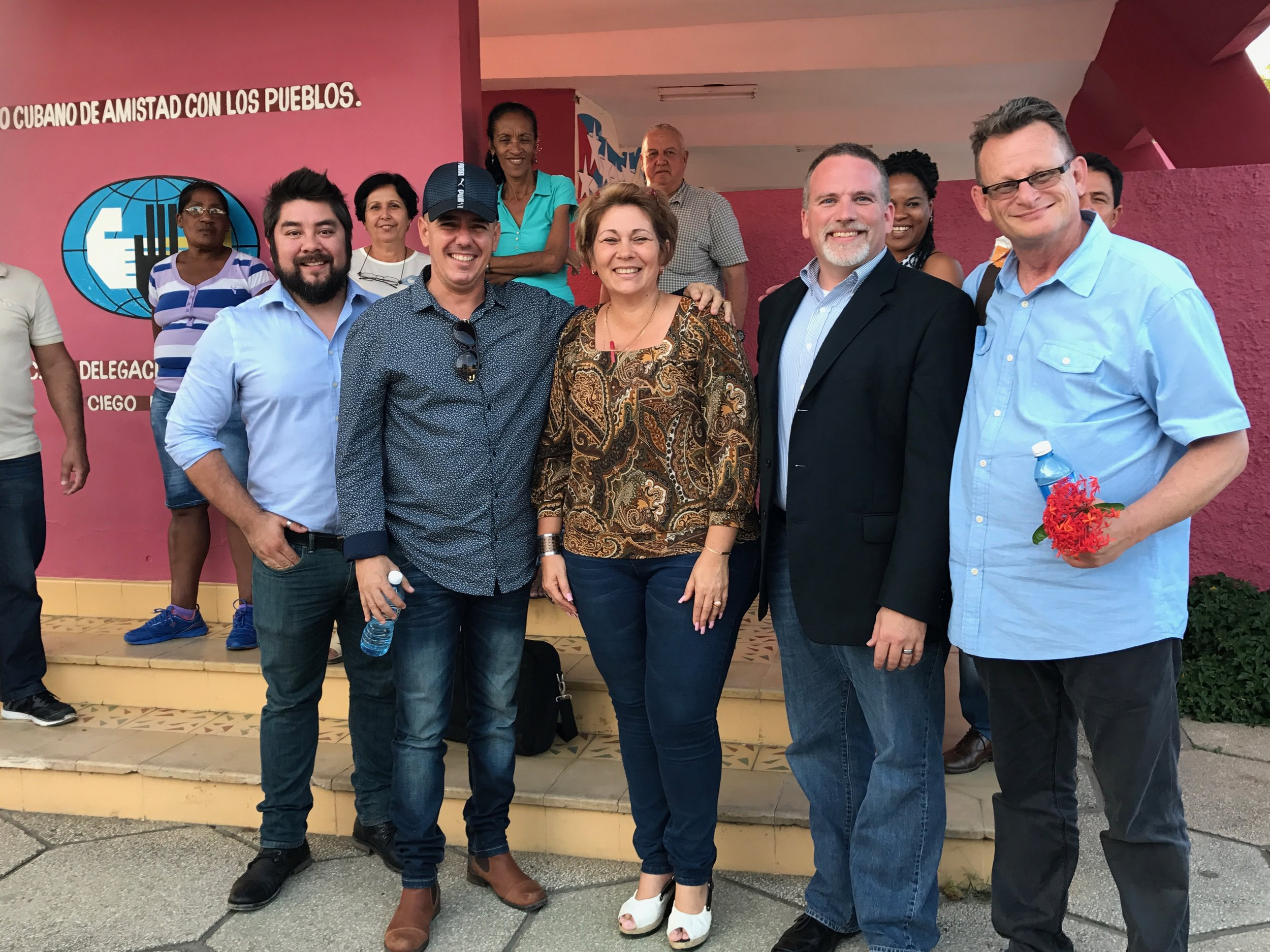 Connect Global Team in Cuba - Thank You for your Support
