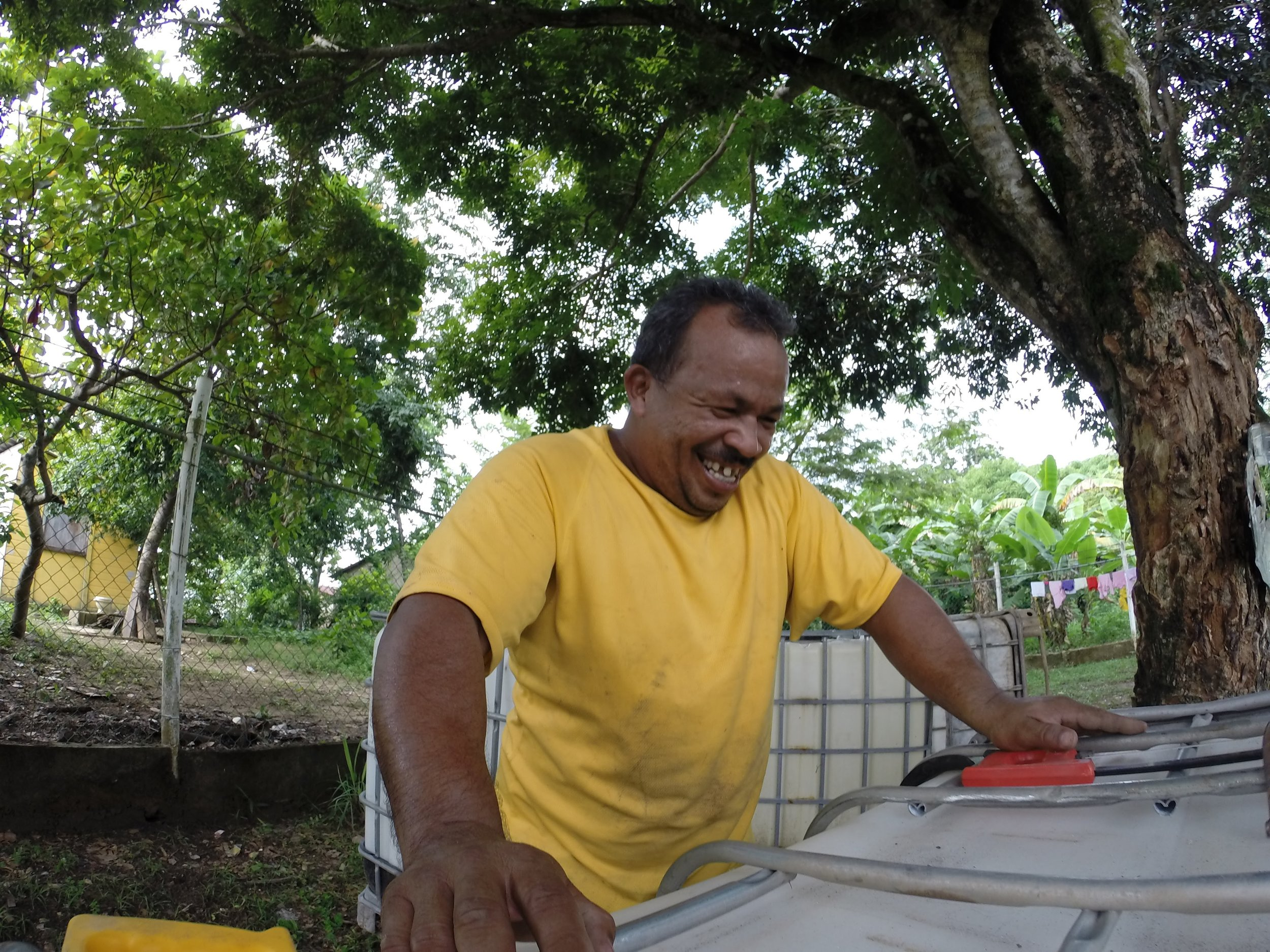 Connect Global National Director in Honduras Jorge Amador always has a plan and a solution for anything that comes up.