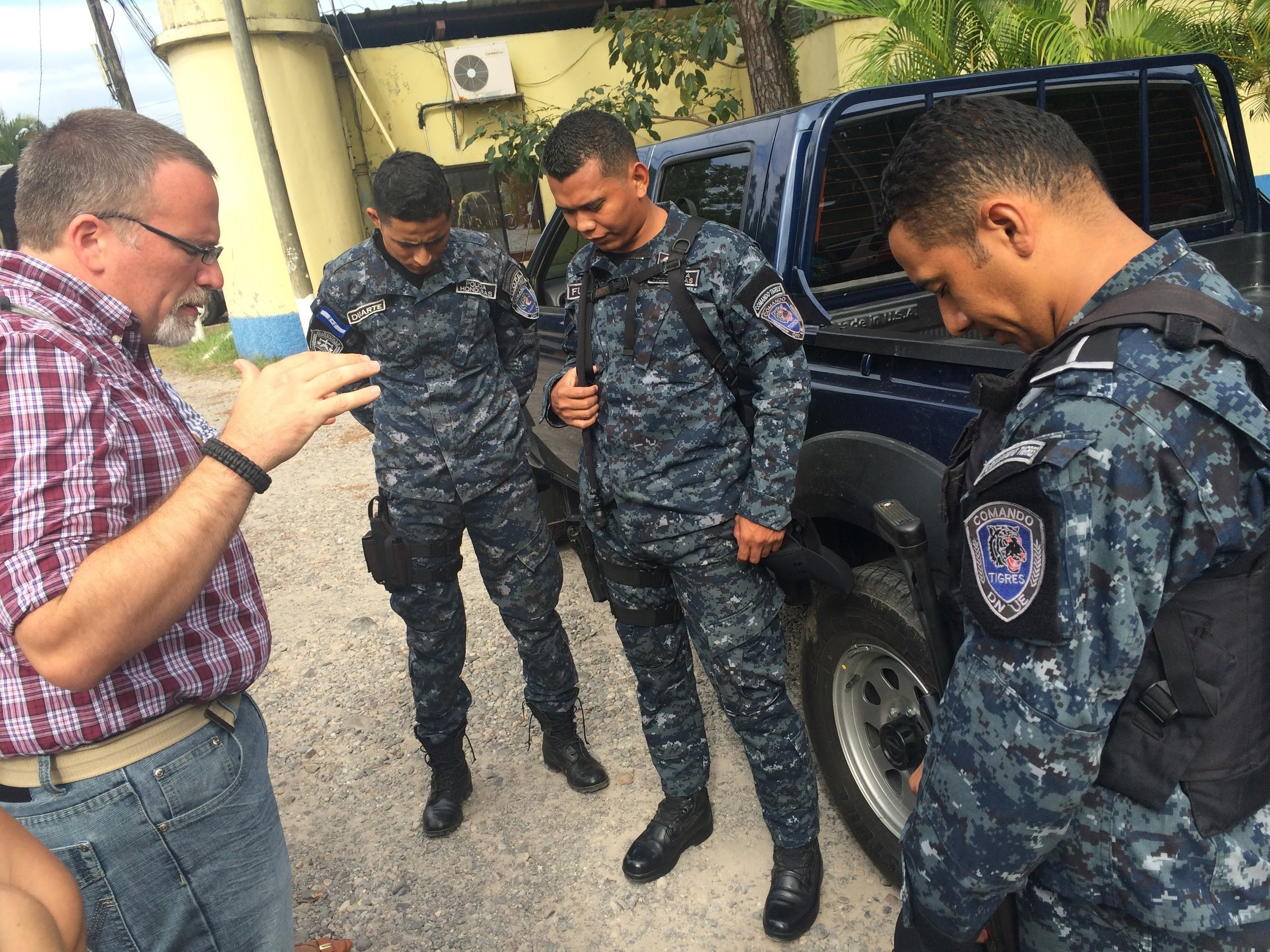 Connect Global has been investing in the local police department in La Ceiba since 2015. We are glad to support these first responders.