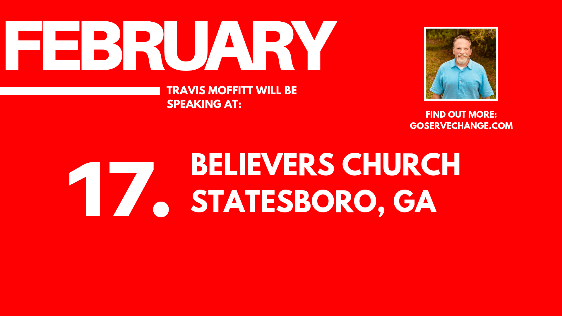 Travis Moffitt will be speaking at Believers Church Statesboro, ga.png