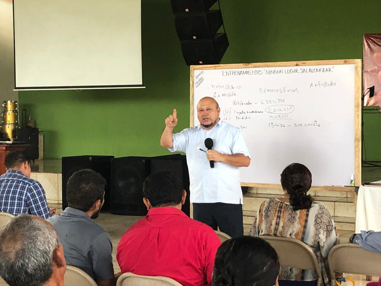 Connect Global Partner and friend, Pastor Allan Lorenzana, completing a training on evangelism around the world.