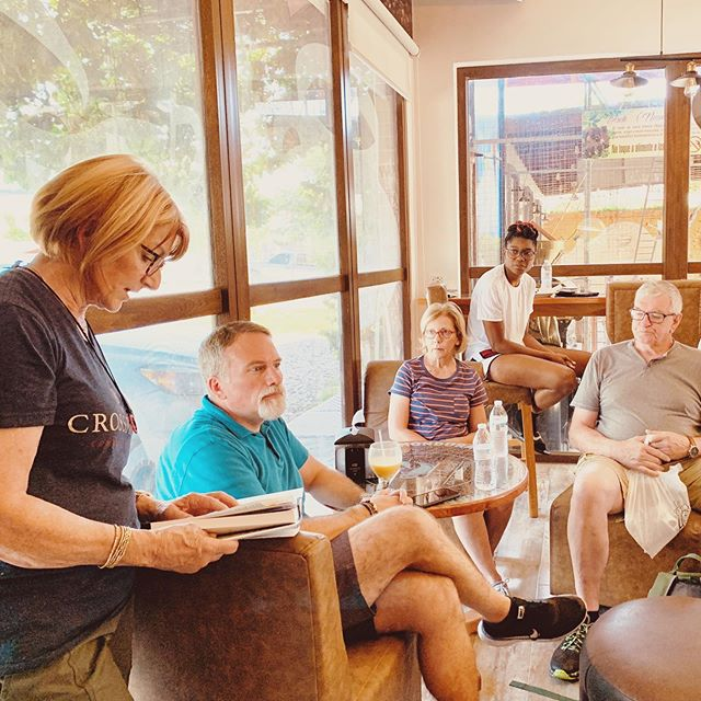 We had a wonderful time of Devotion this morning to start the day off with the team.  Thank You Virginia for sharing a great message reminding us of our purpose and how us acting in that purpose creates a ripple effect.  We are grateful to be here in Honduras fulfilling our purpose by serving others.  Please keep the team in your prayers as we travel throughout the country side.  #GoServeChange