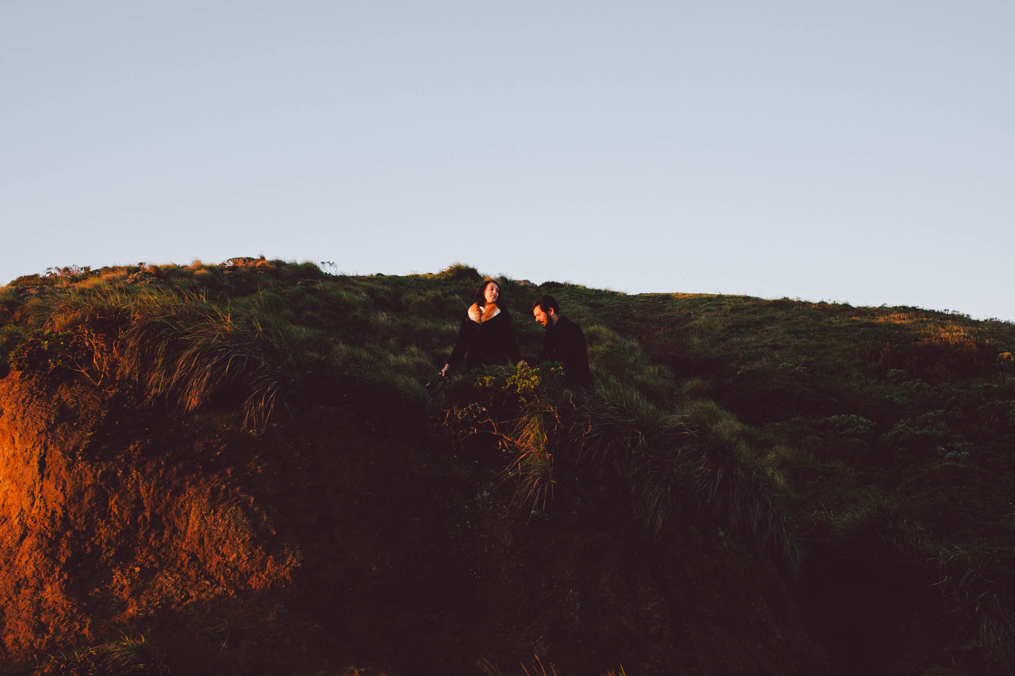 sunrise engagement twin peaks san francisco