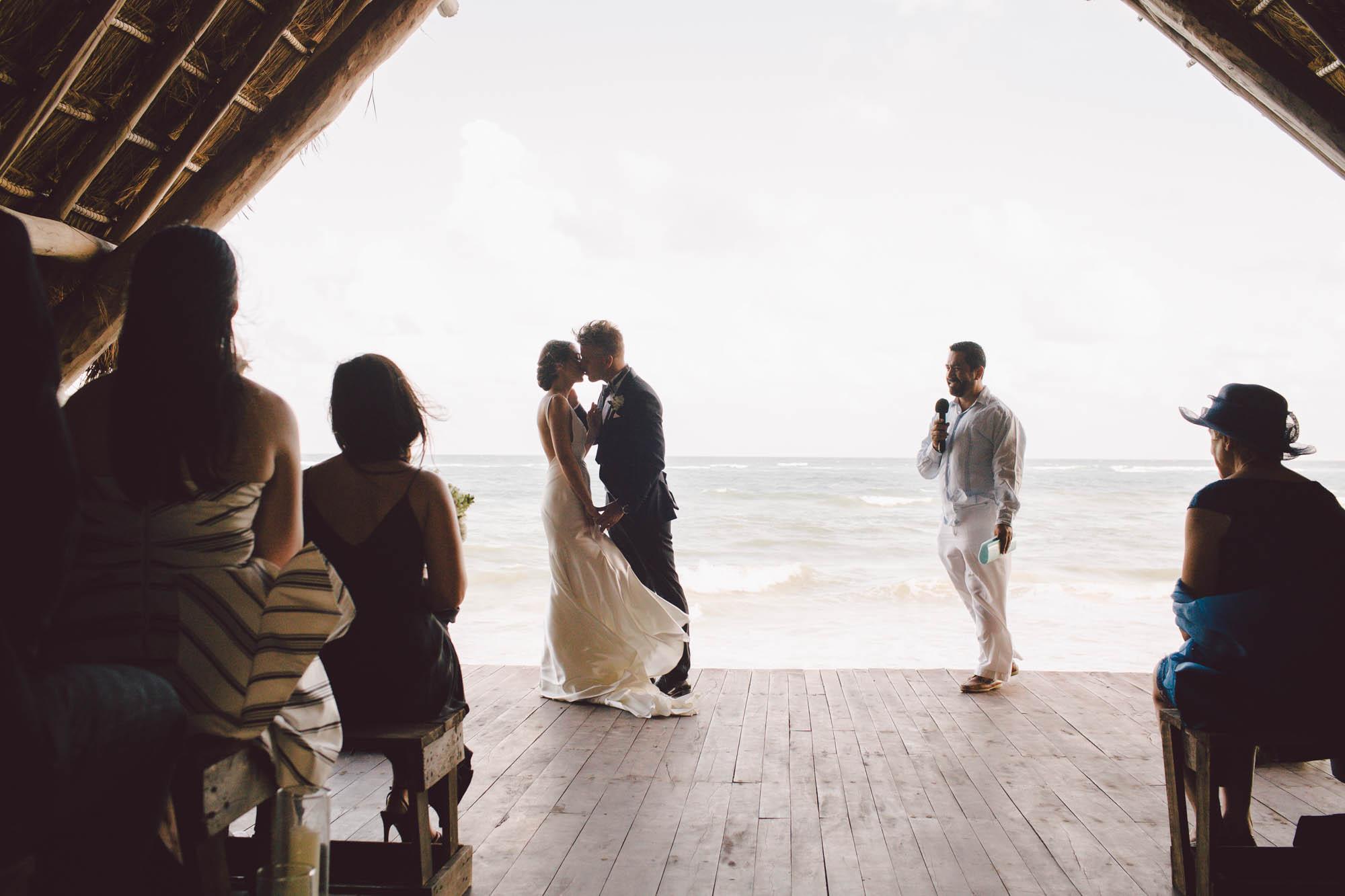 Destination wedding papaya playa tulum mexico