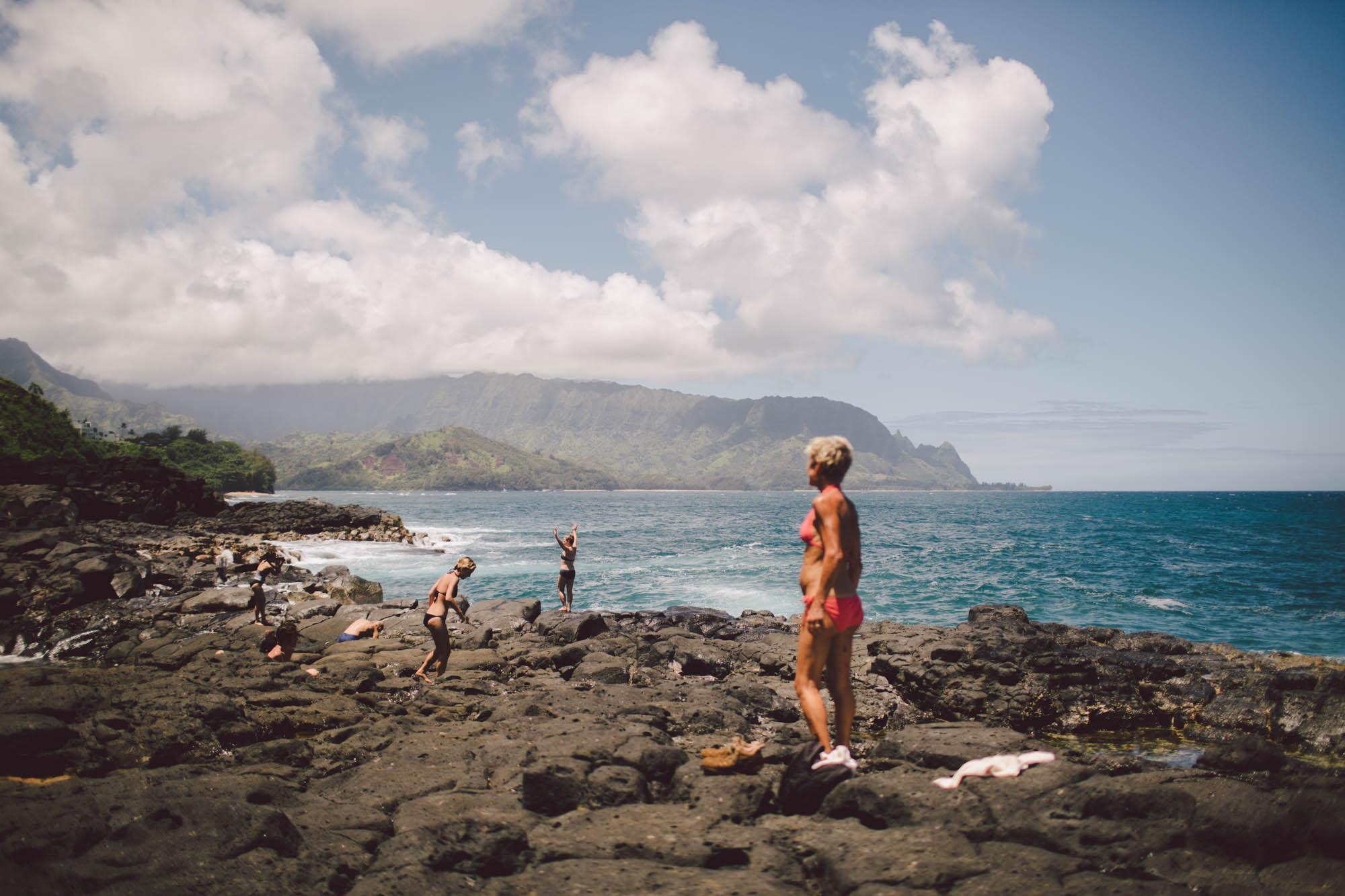 waimea canyon adventure elopement engagement kauai wedding