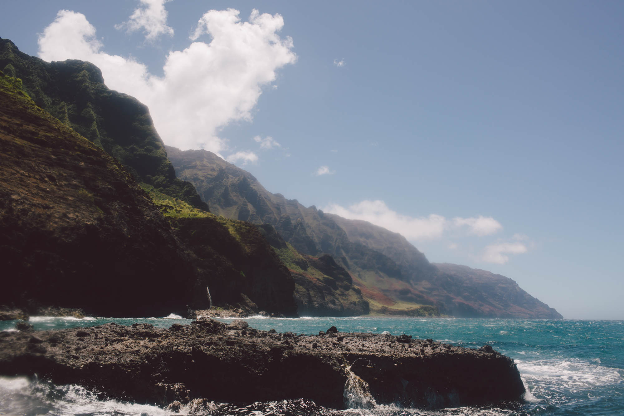 Nā Pali Coast elopement wedding kauai photographer