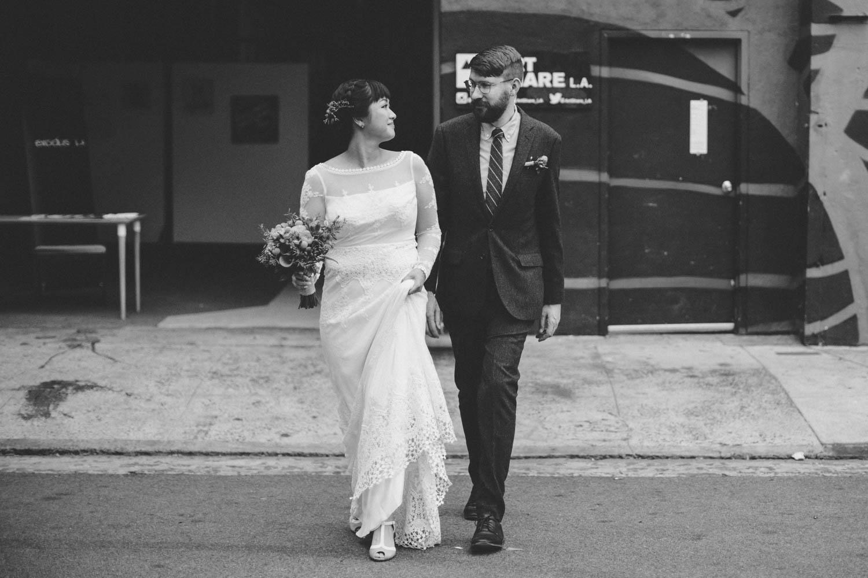 dtla los angeles arts district millwick hipster wedding