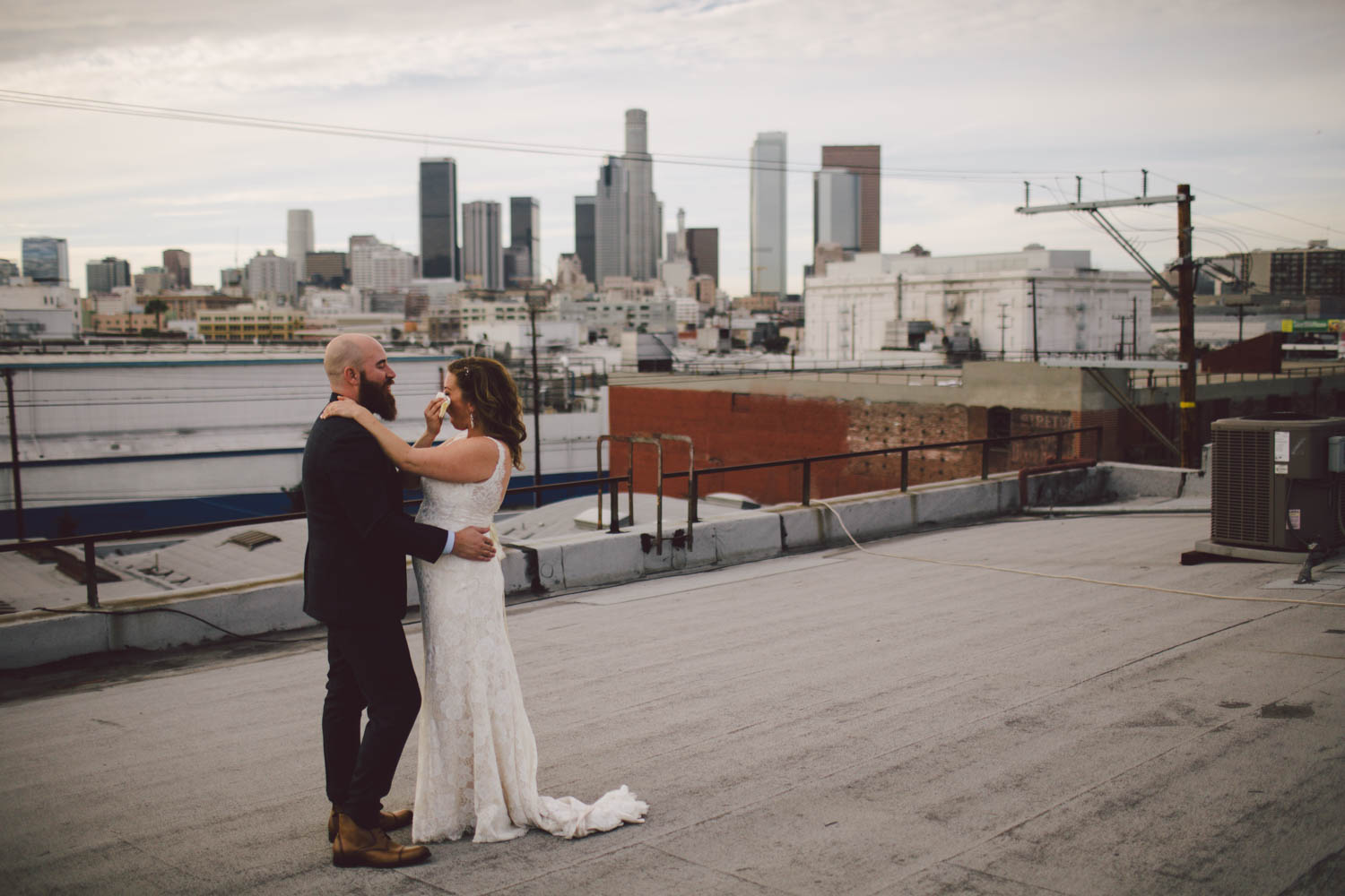 downtown los angeles loft industrial 440 seaton wedding
