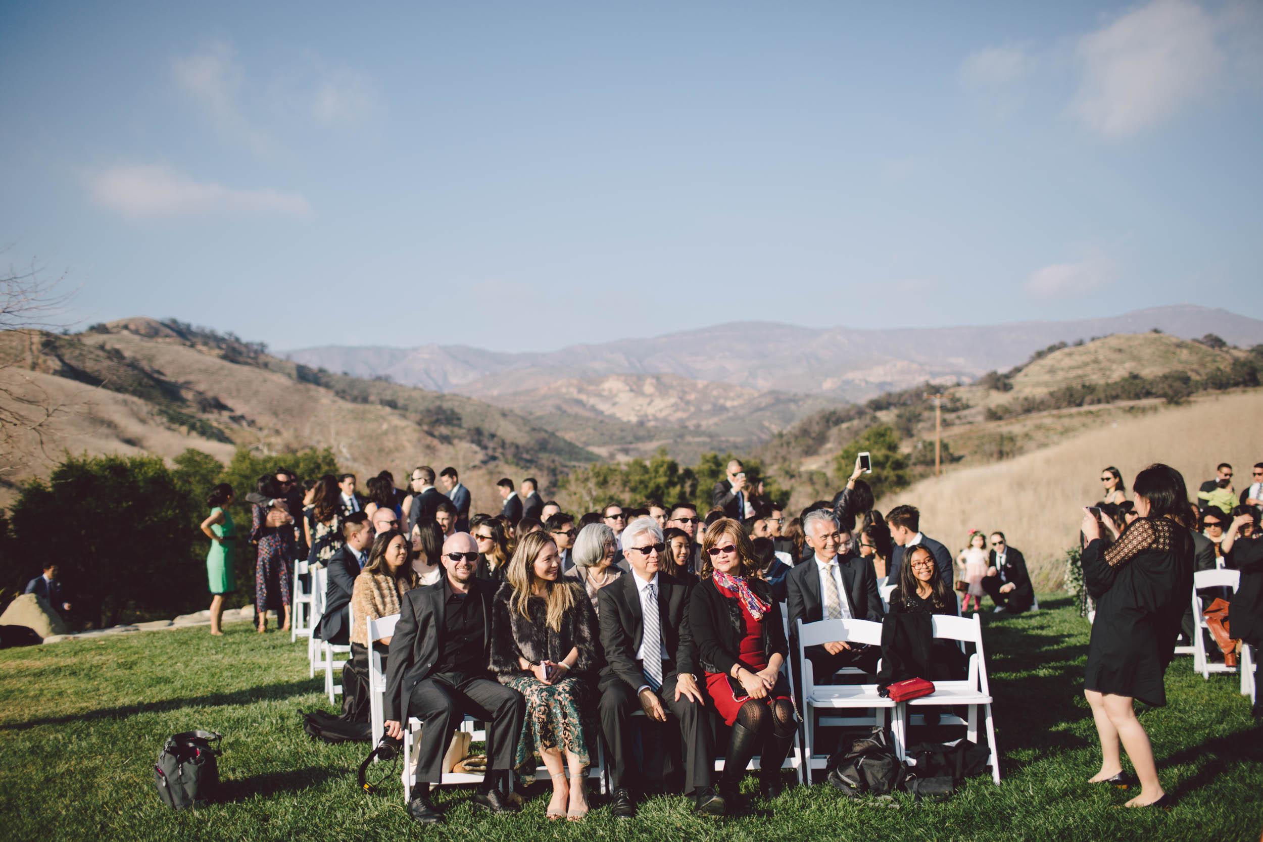 el capitan canyon santa barbara glamping wedding