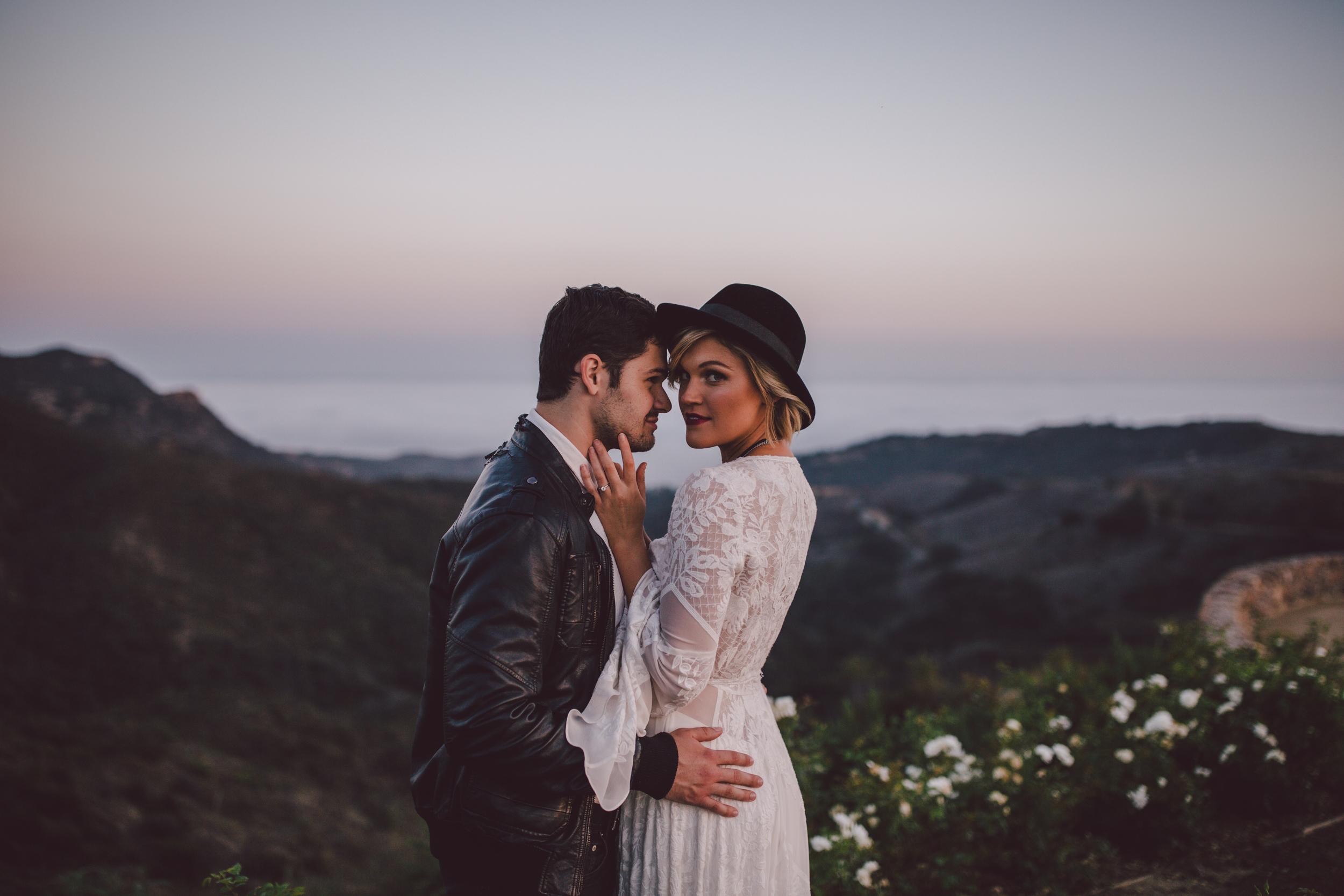 leather jacket-couple-malibu-stonewall ranch-lovely bride-rue de seine