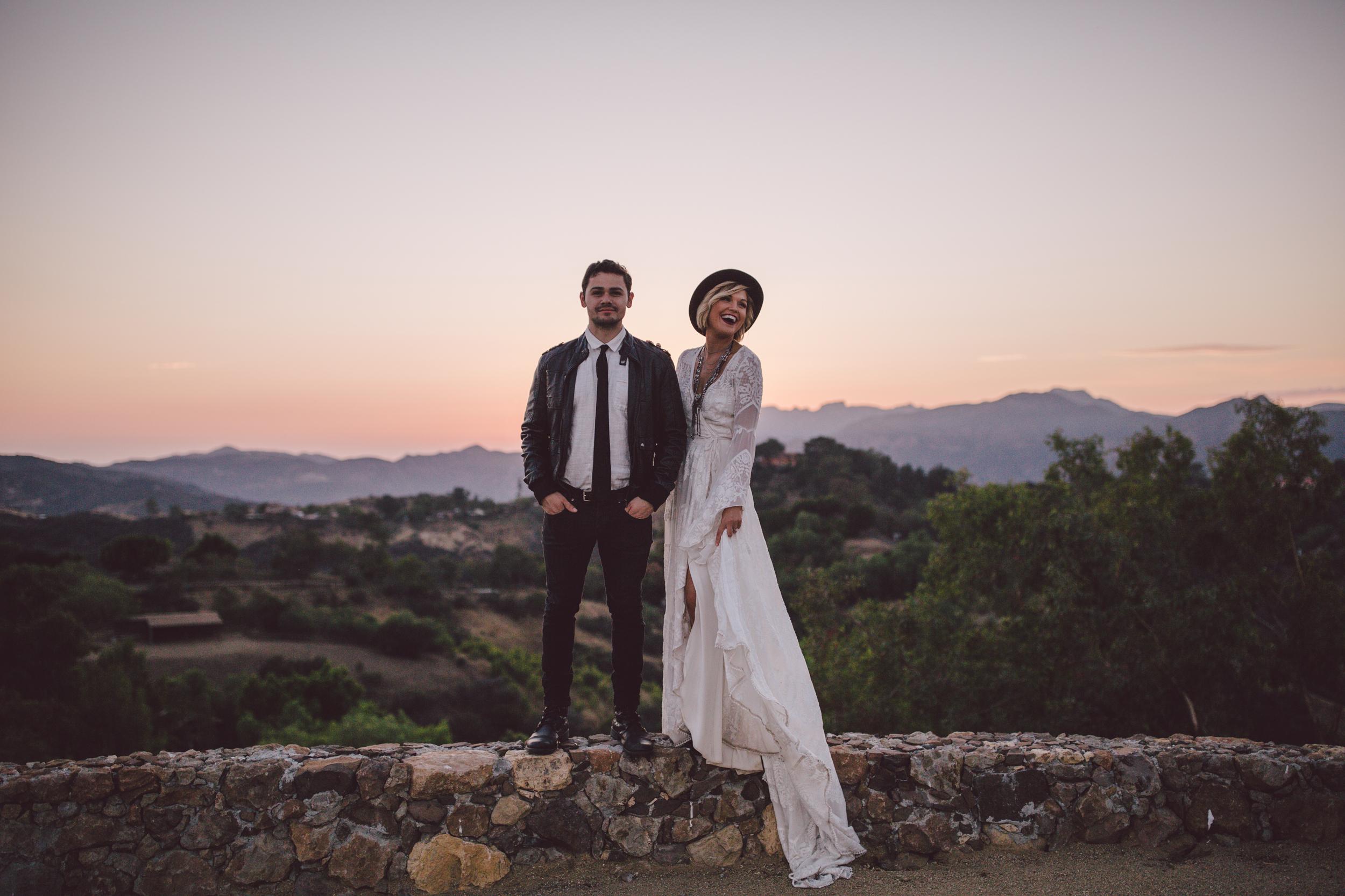 sunset-portraits-stonewall ranch-malibu-california-bohemian