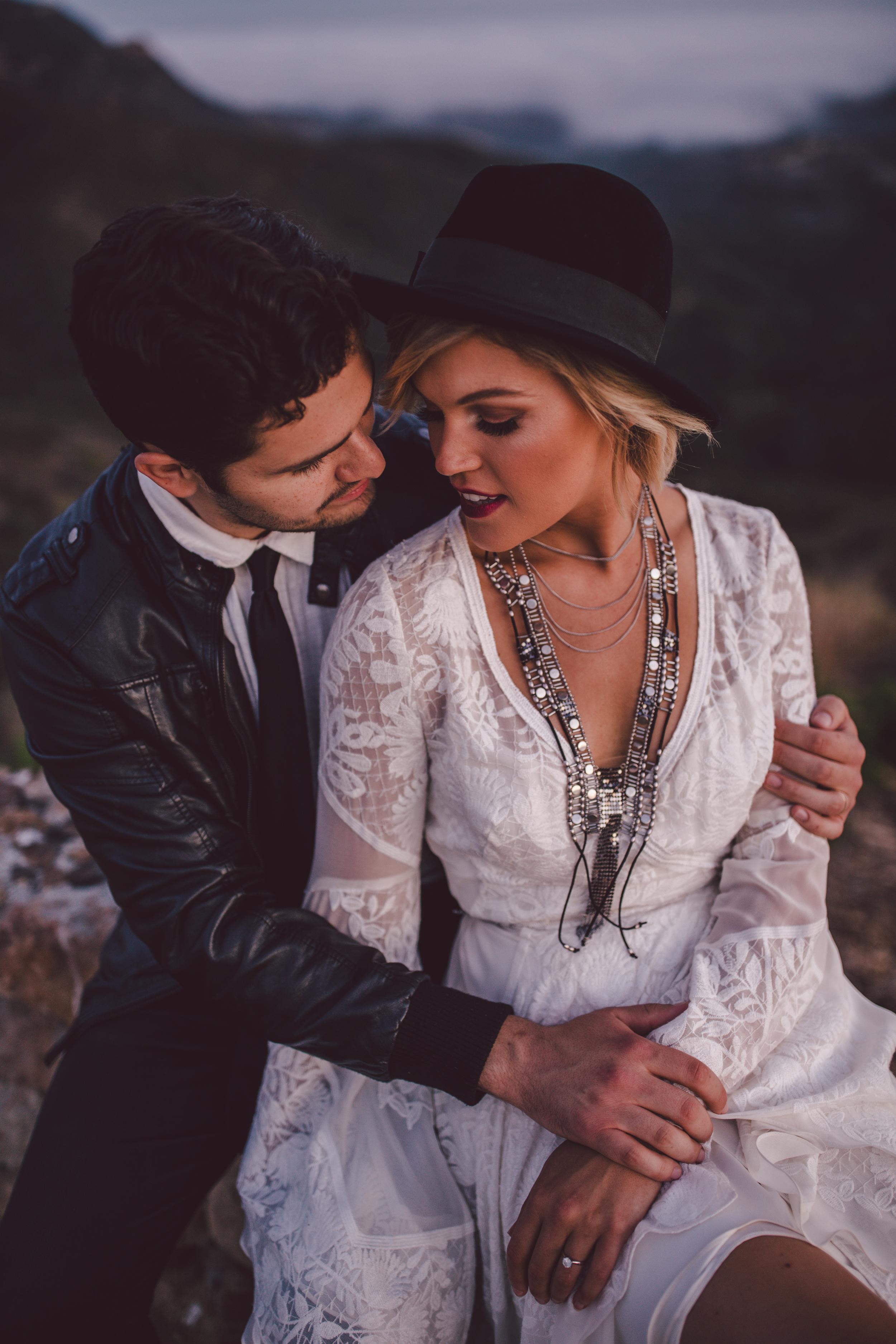 boho-romantic-couple-malibu-leather-stonewall ranch