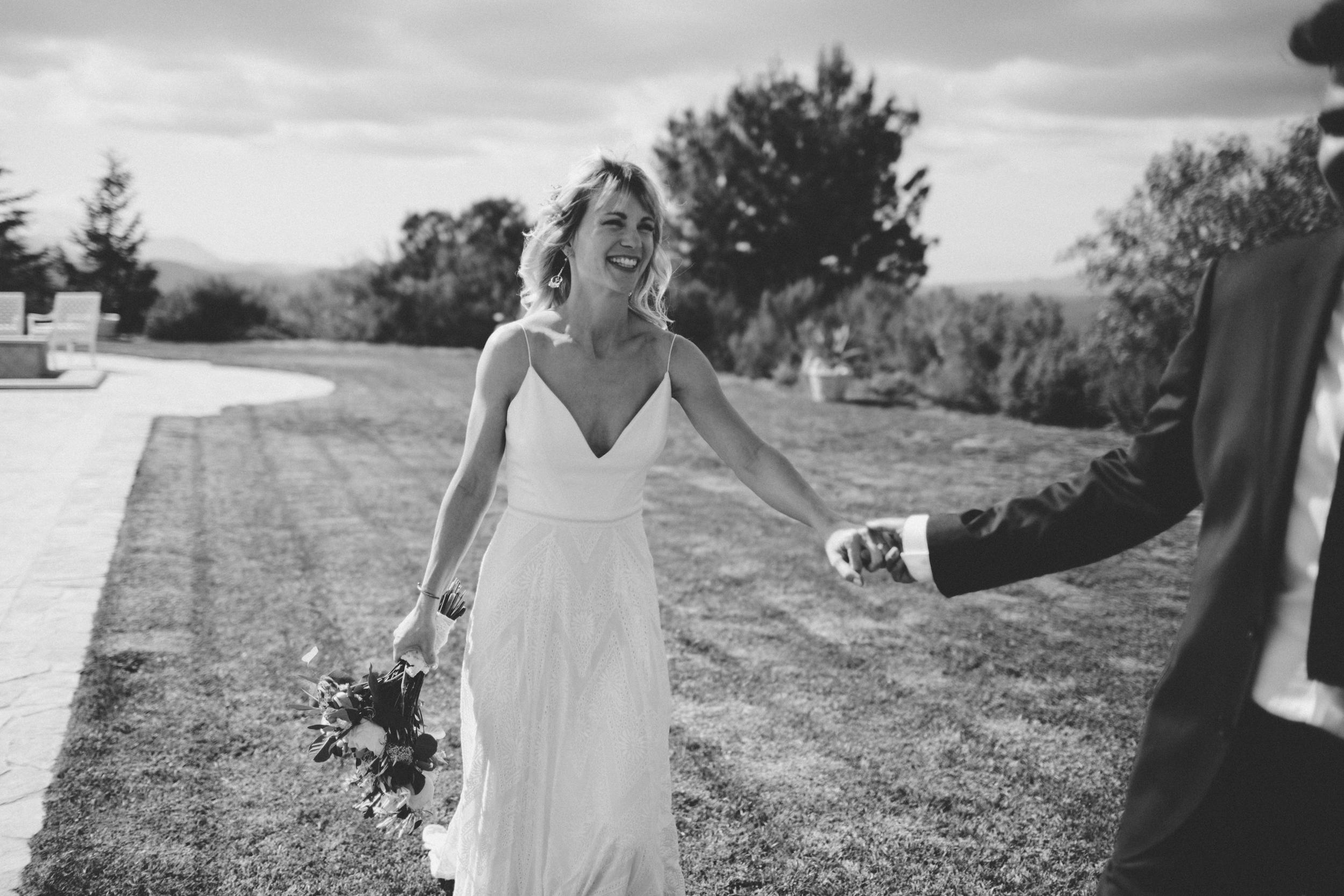 intimate wedding-bohemian-malibu-bride