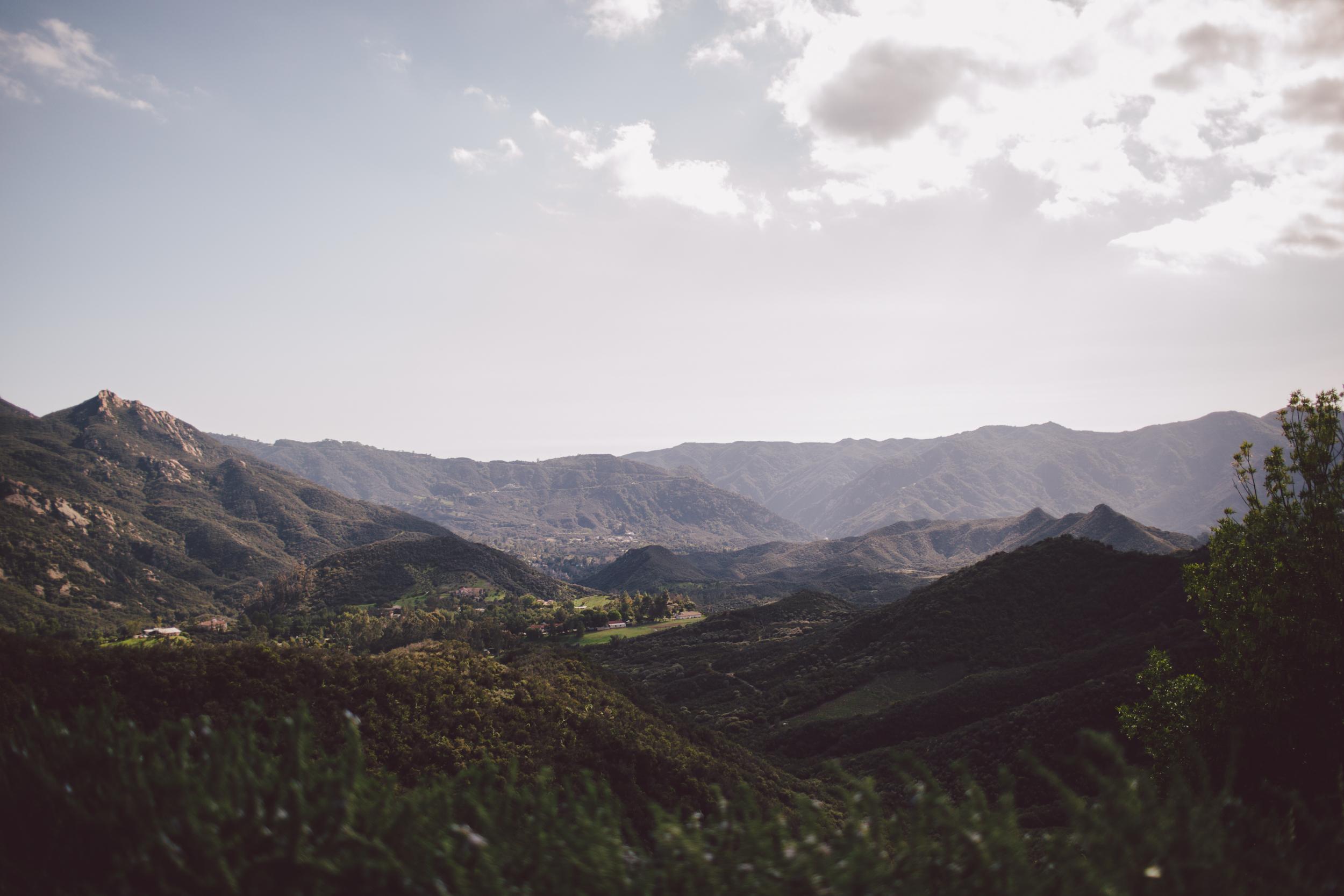 santa monica mountains-malibu-wedding-backyard