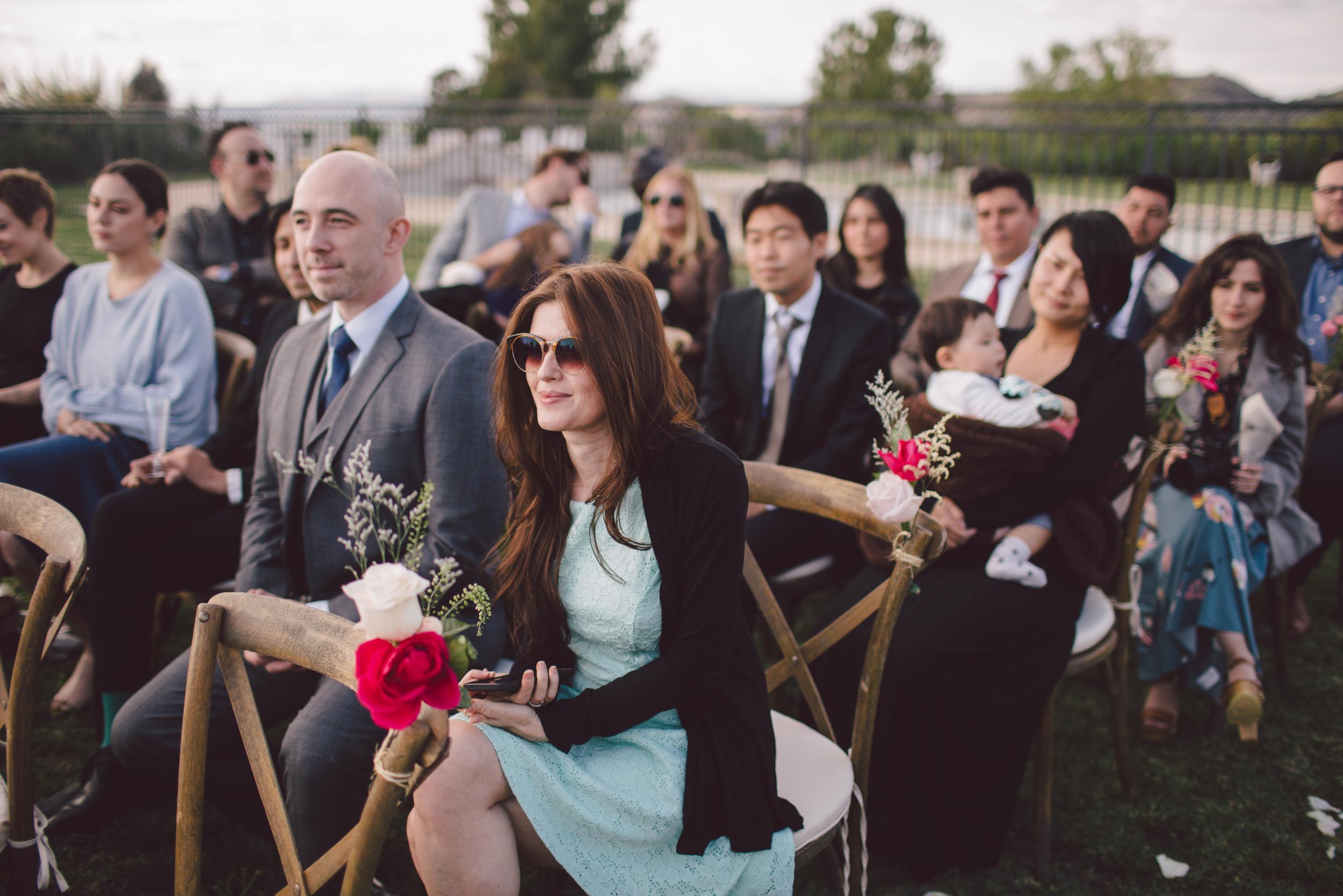 wedding guest-malibu-ceremony-boho