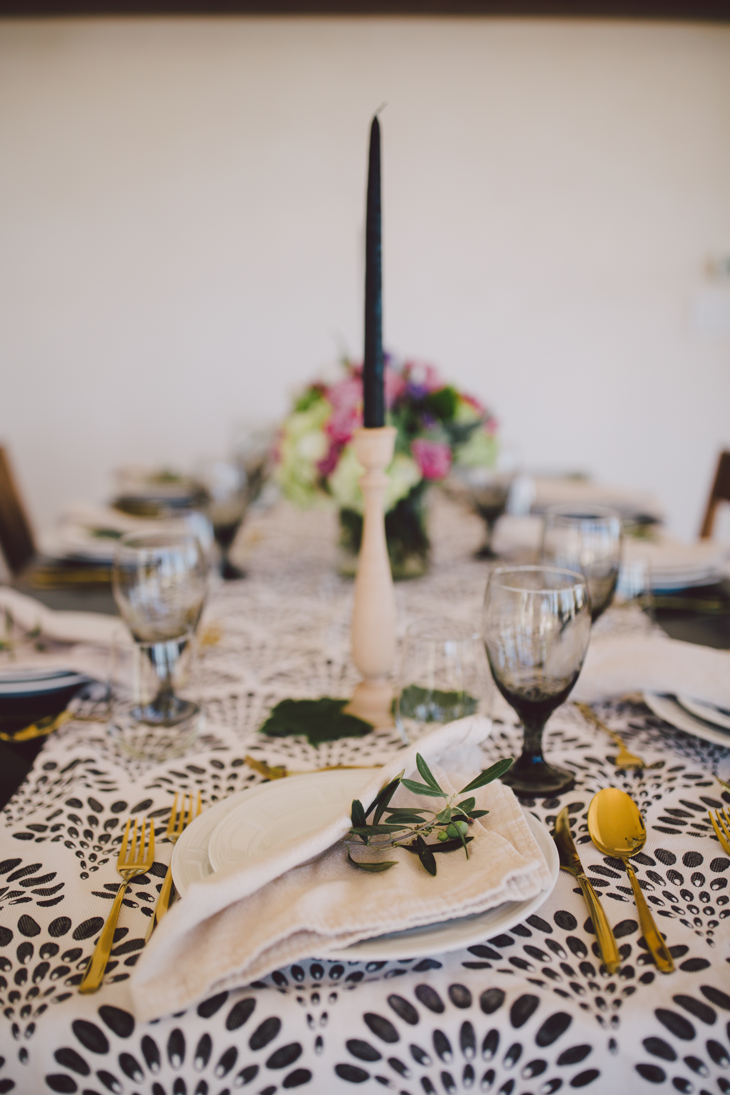 california elopement dinner party intimate wedding