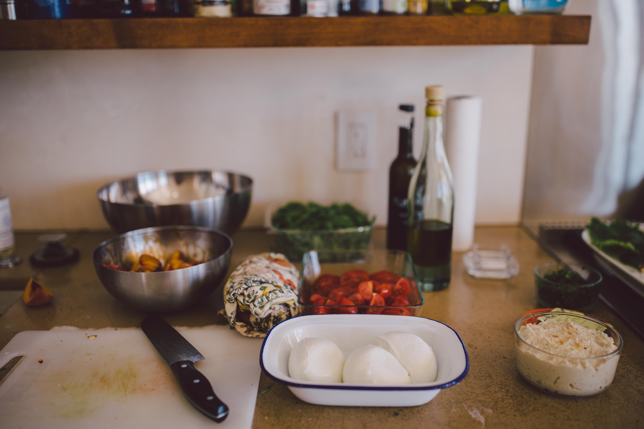 ojai california elopement private chef wedding