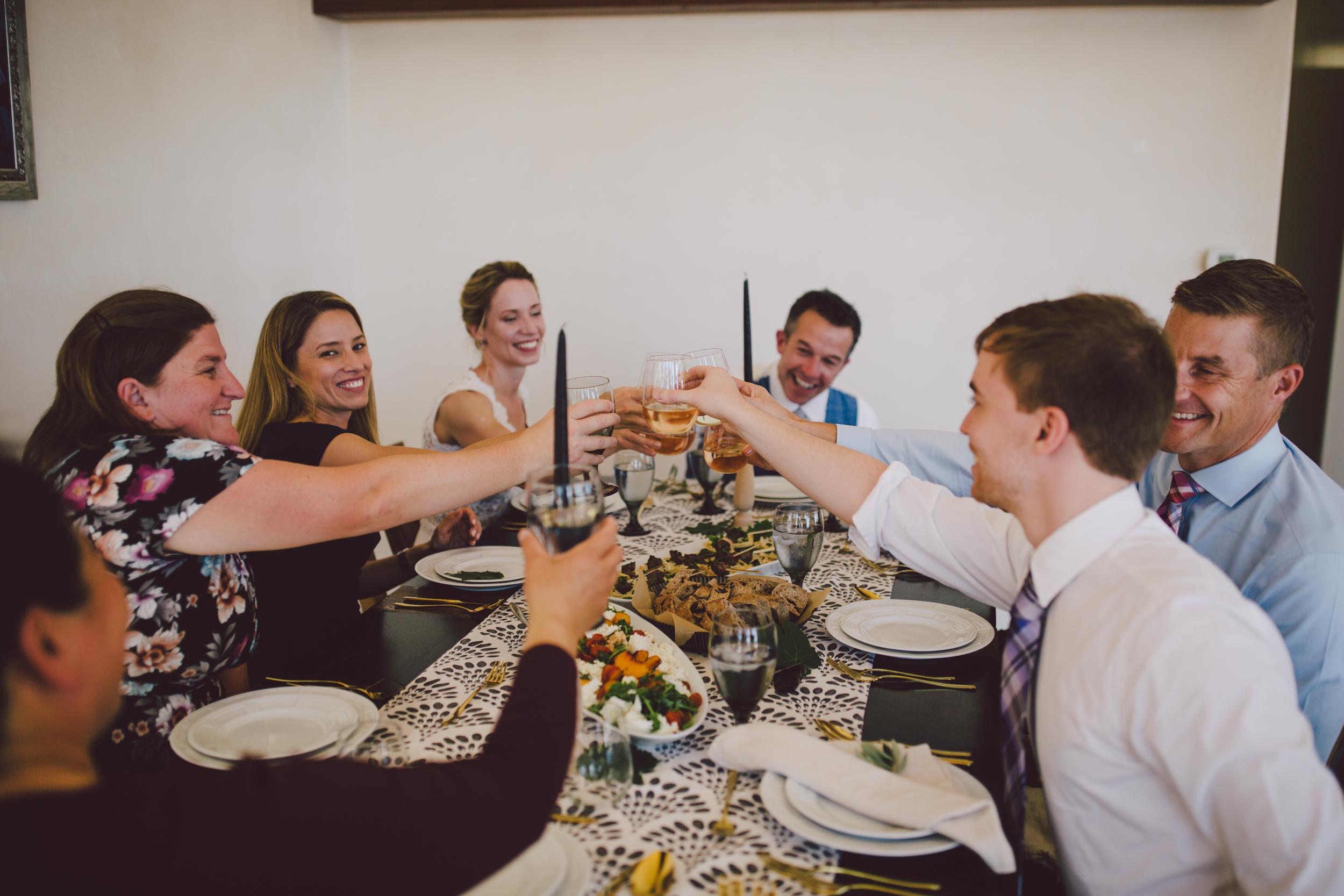 foodie wedding ojai private estate chef elopement