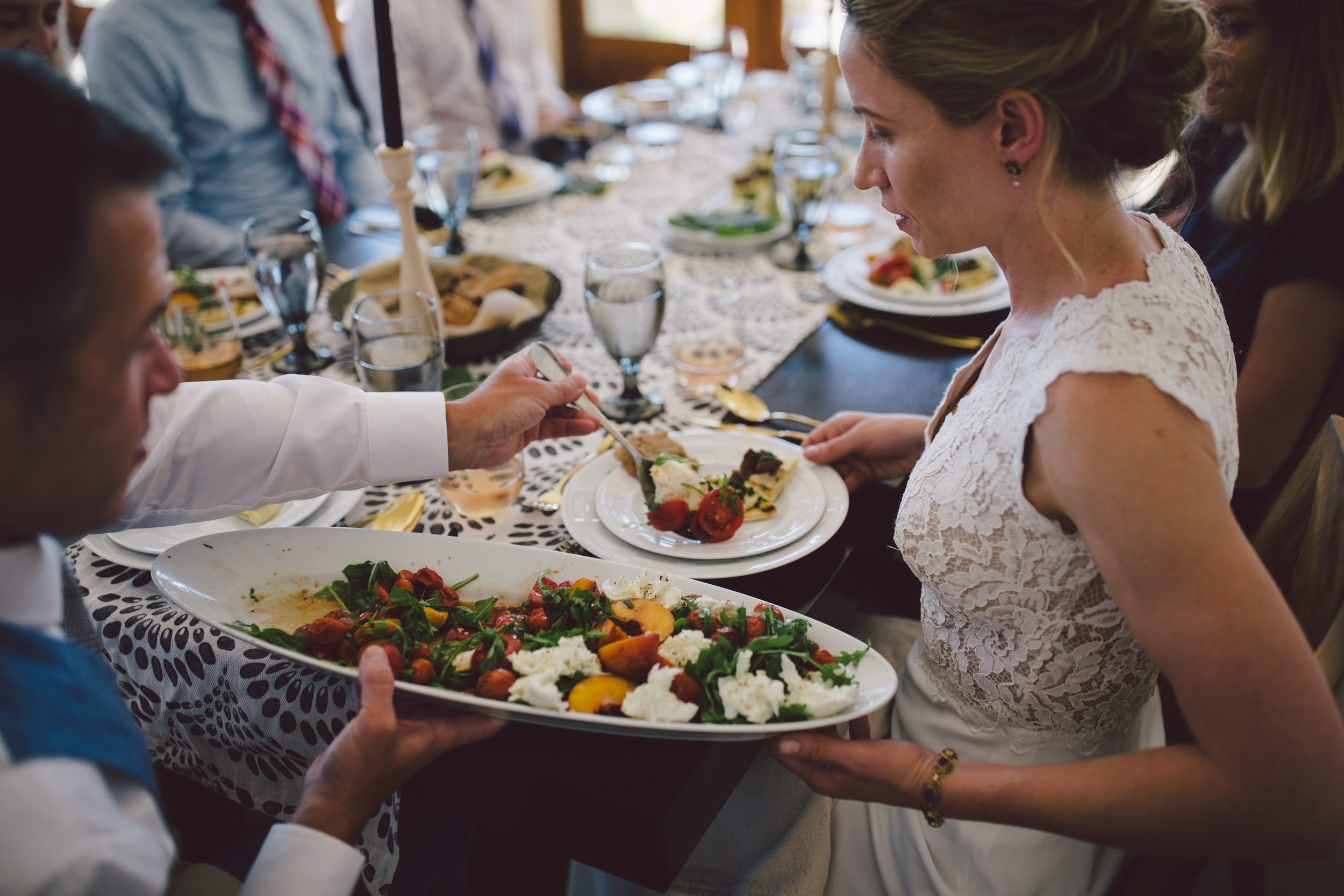 private chef robin ojai dinner party intimate wedding