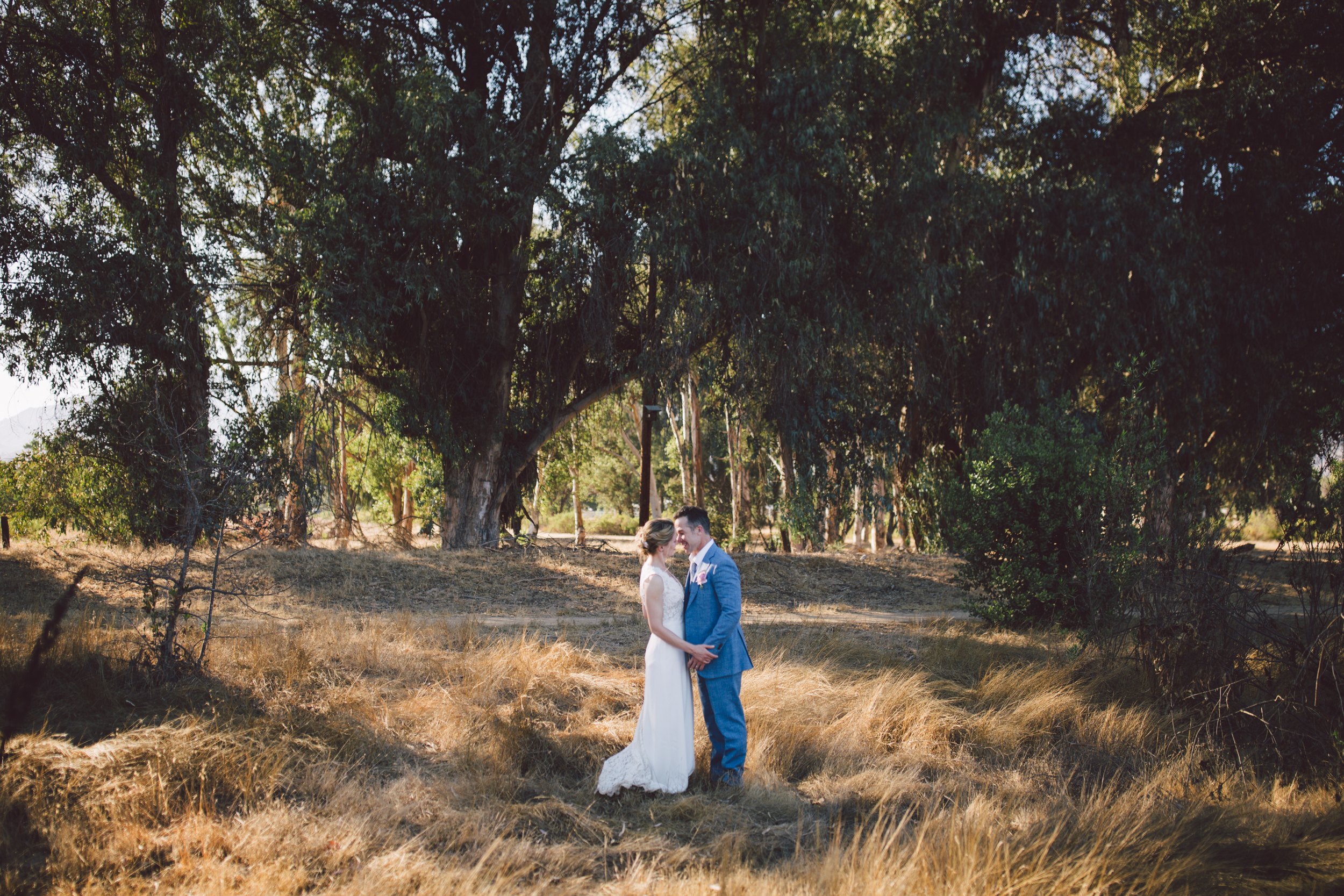 outdoor elopement ojai mountain couple