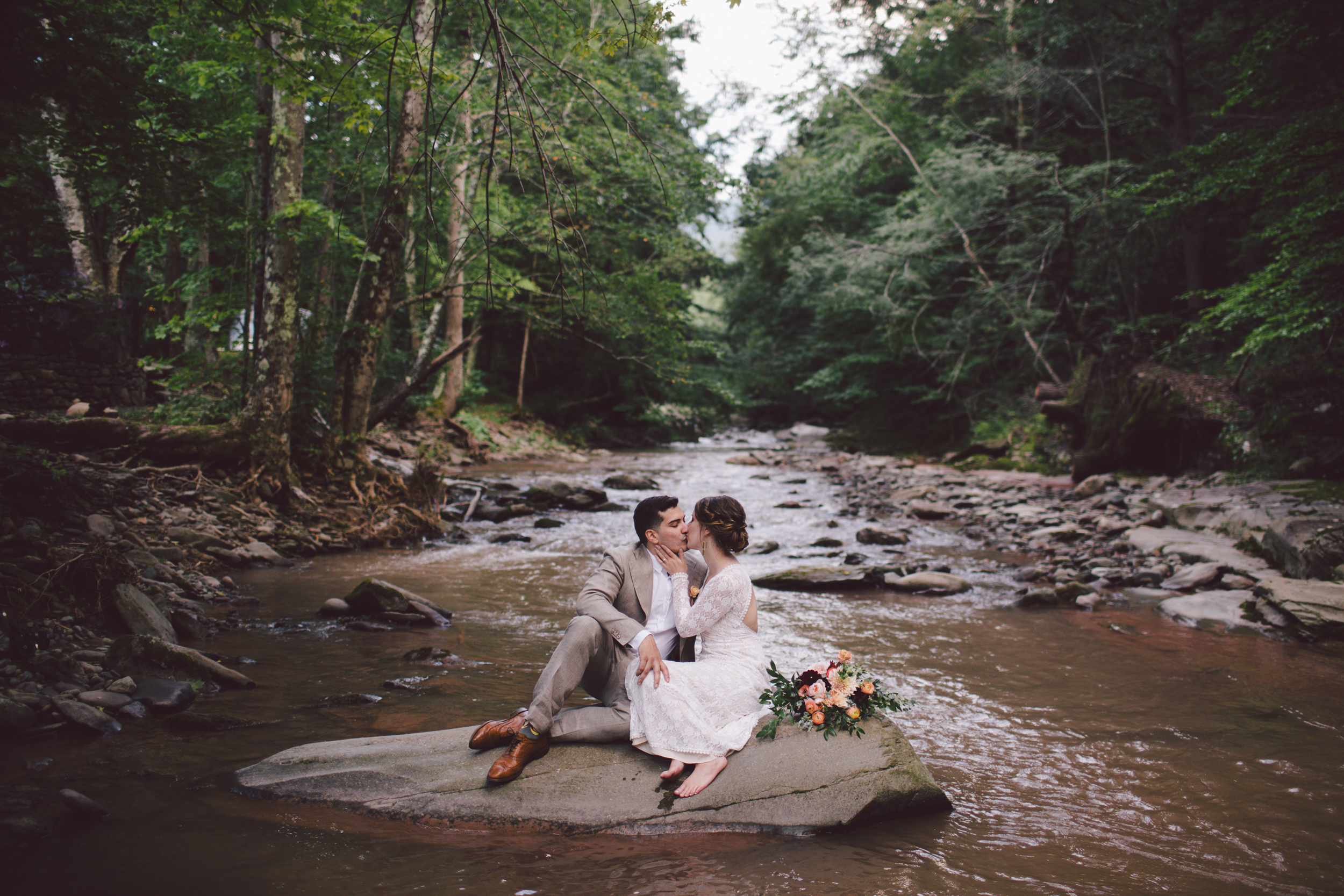 full moon resort wedding wild bohemian new york destination