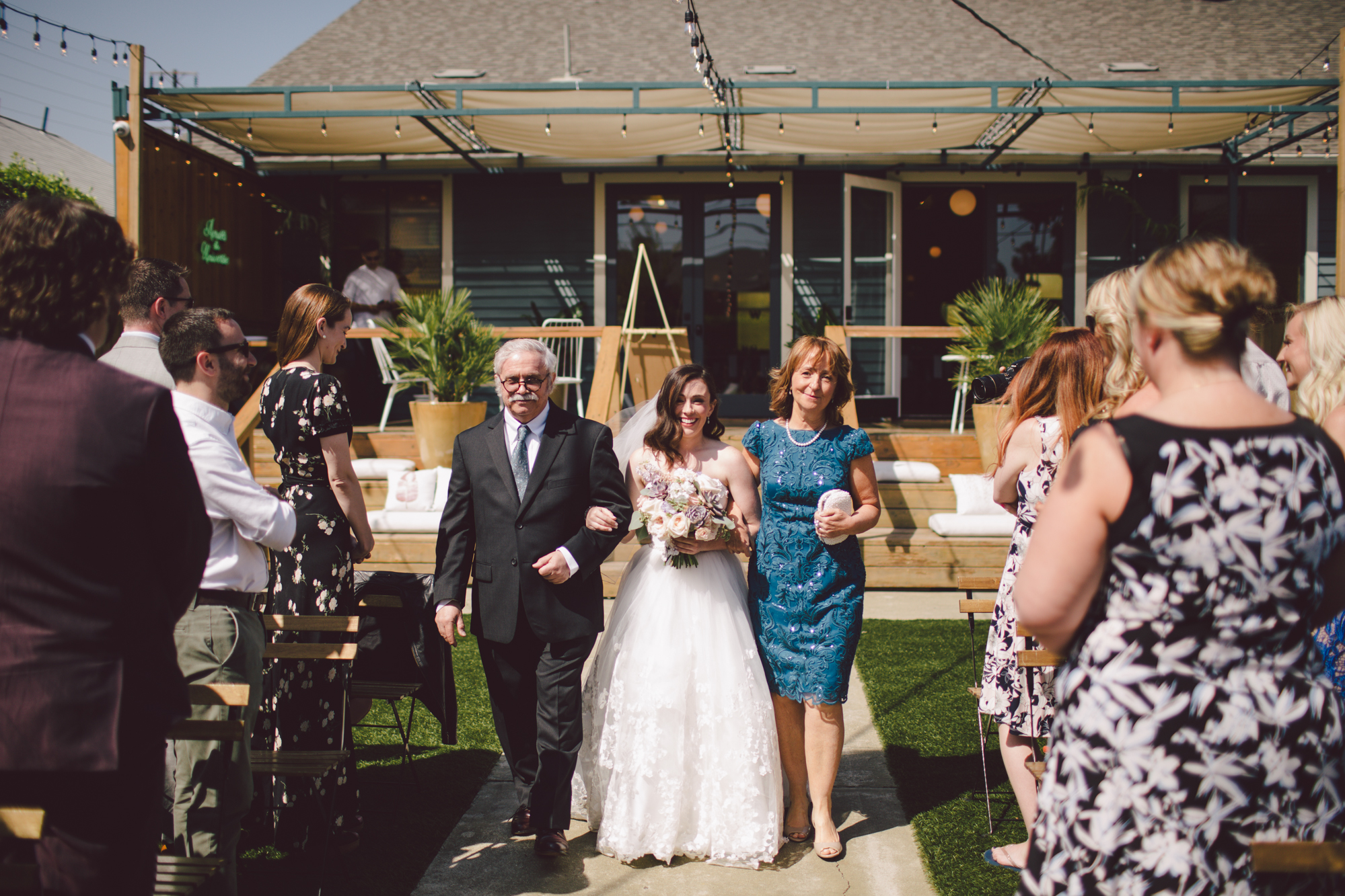 outdoor ceremony-los angeles-cool wedding venue