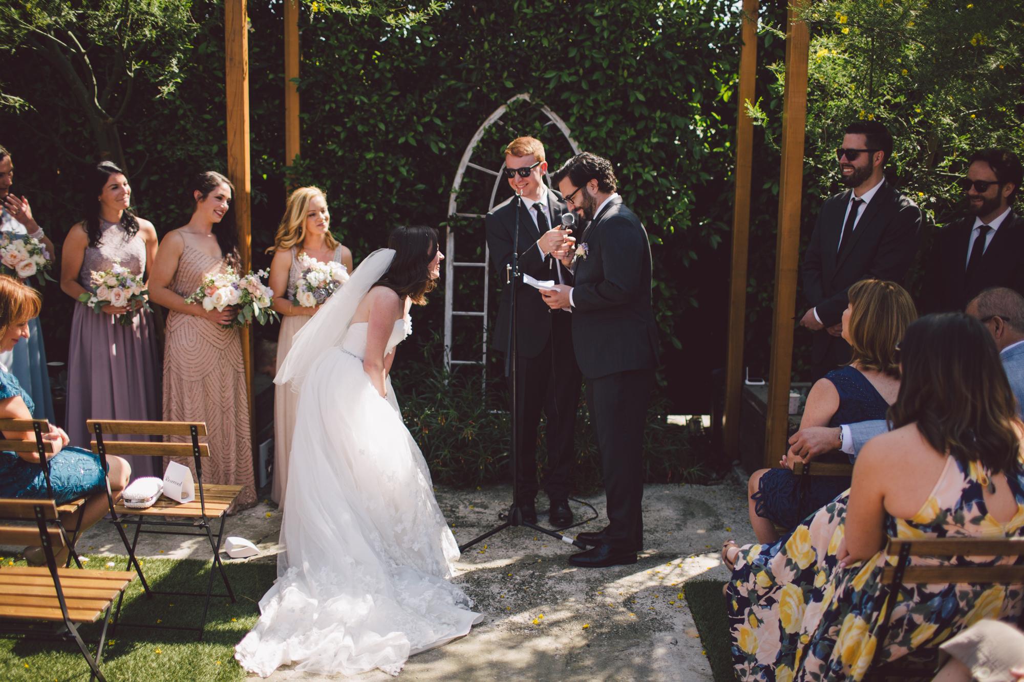 outdoor ceremony-los angeles-cool wedding venue-destination