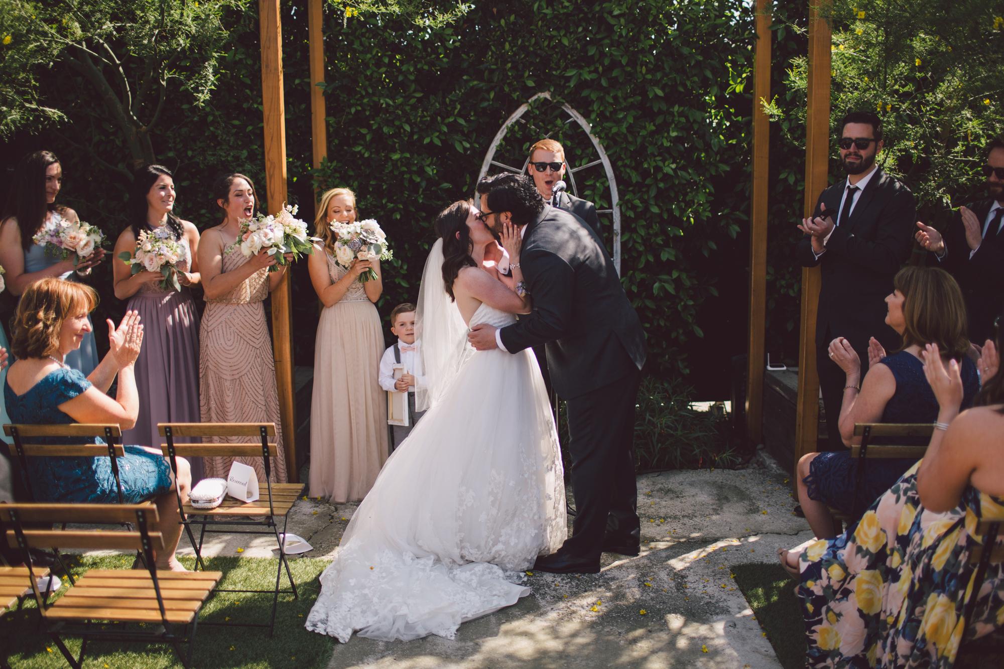 outdoor wedding venue-los angeles-eastside- ceremony