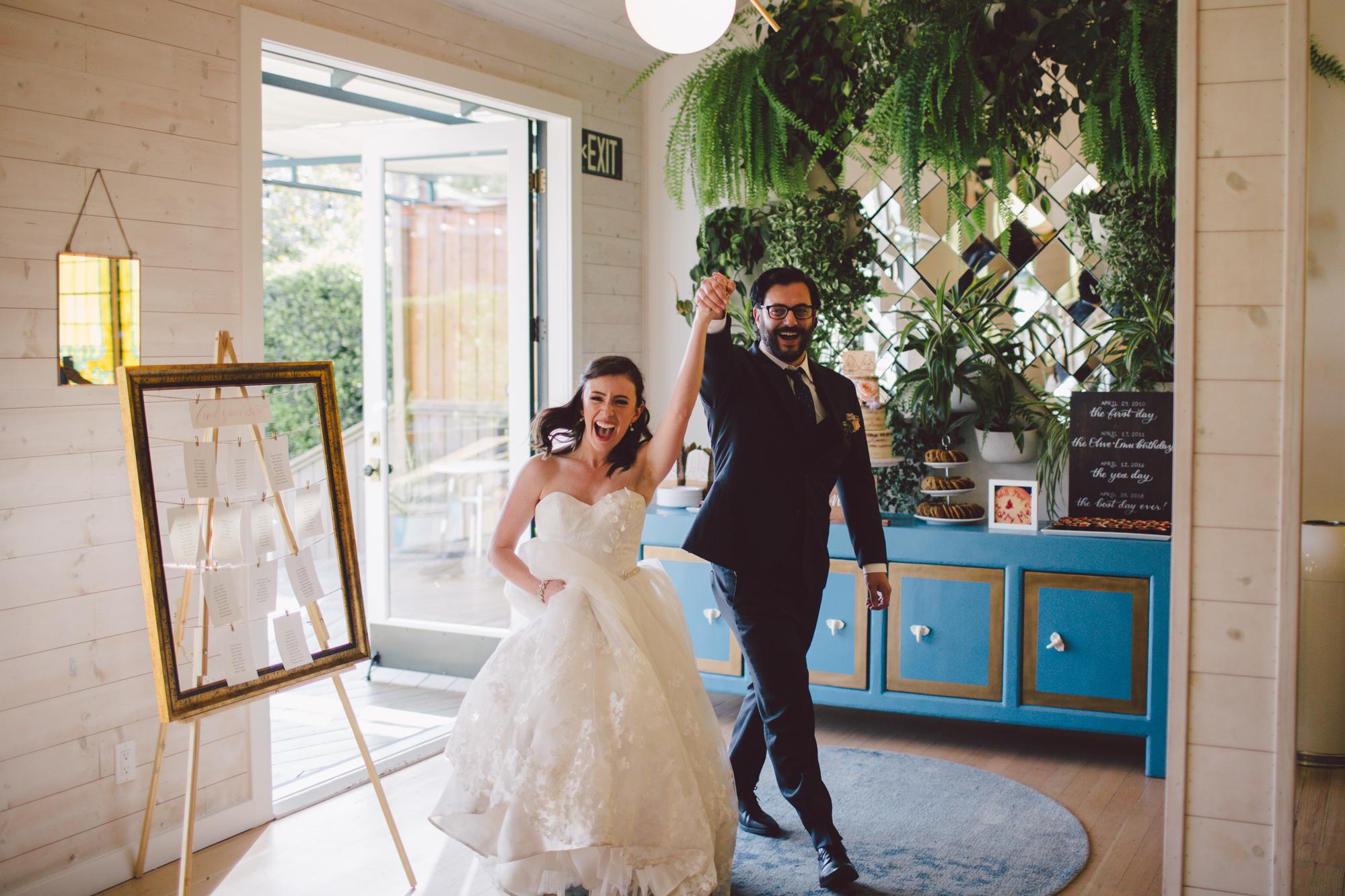 outdoor ceremony-los angeles-cool wedding venue-ruby street