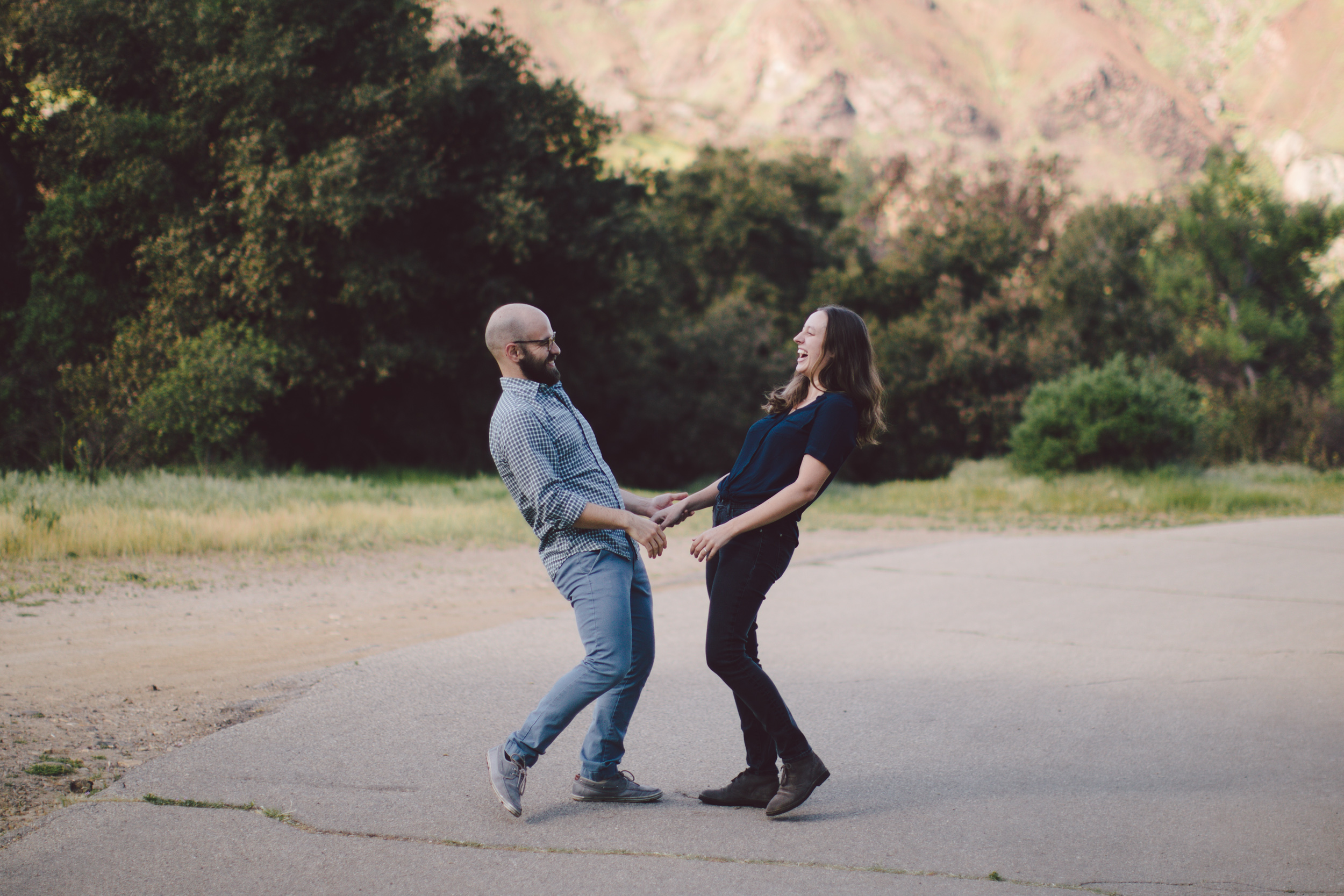 malibu canyon california adventure couples session