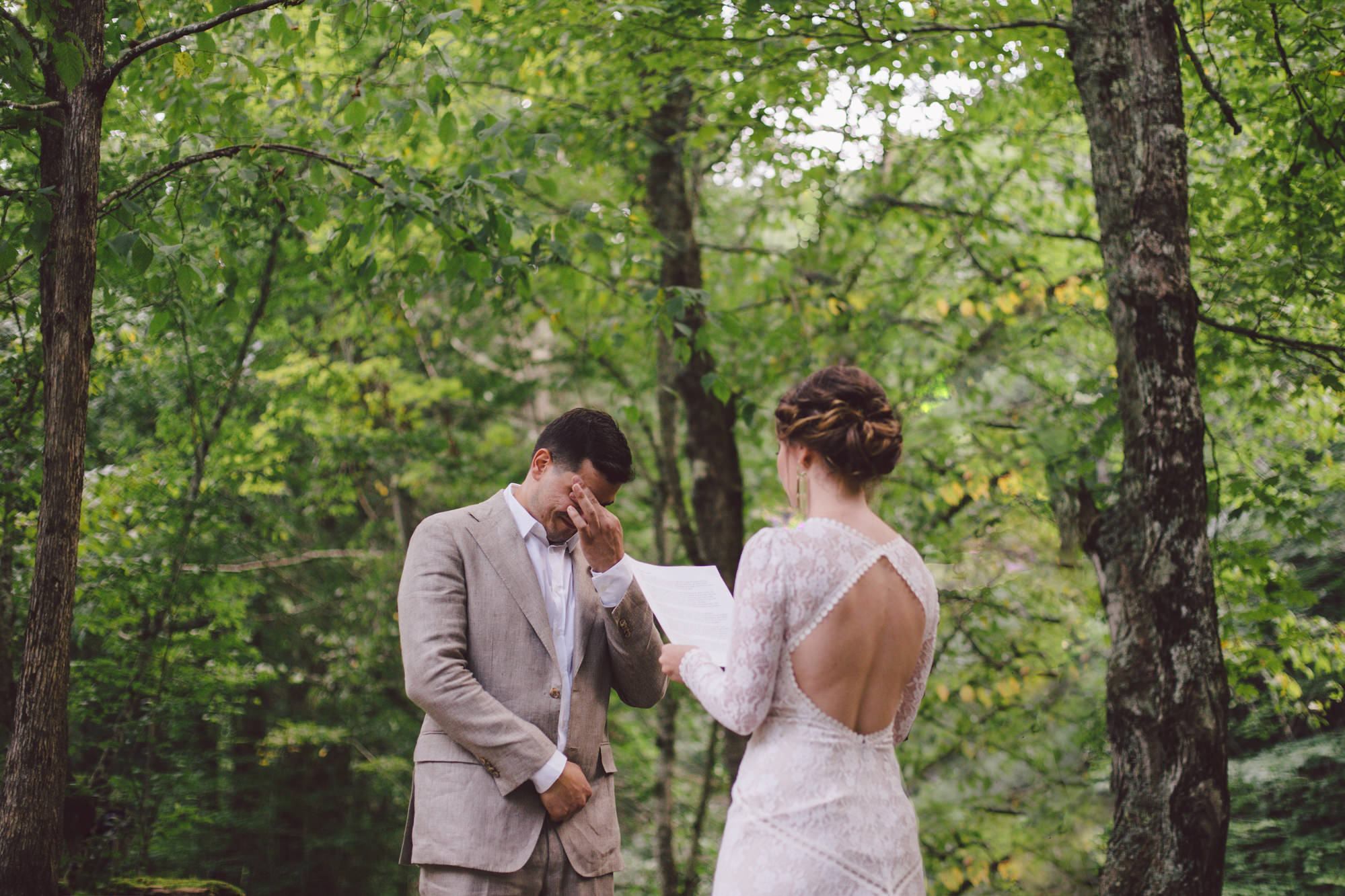Intimate weddings + elopements -