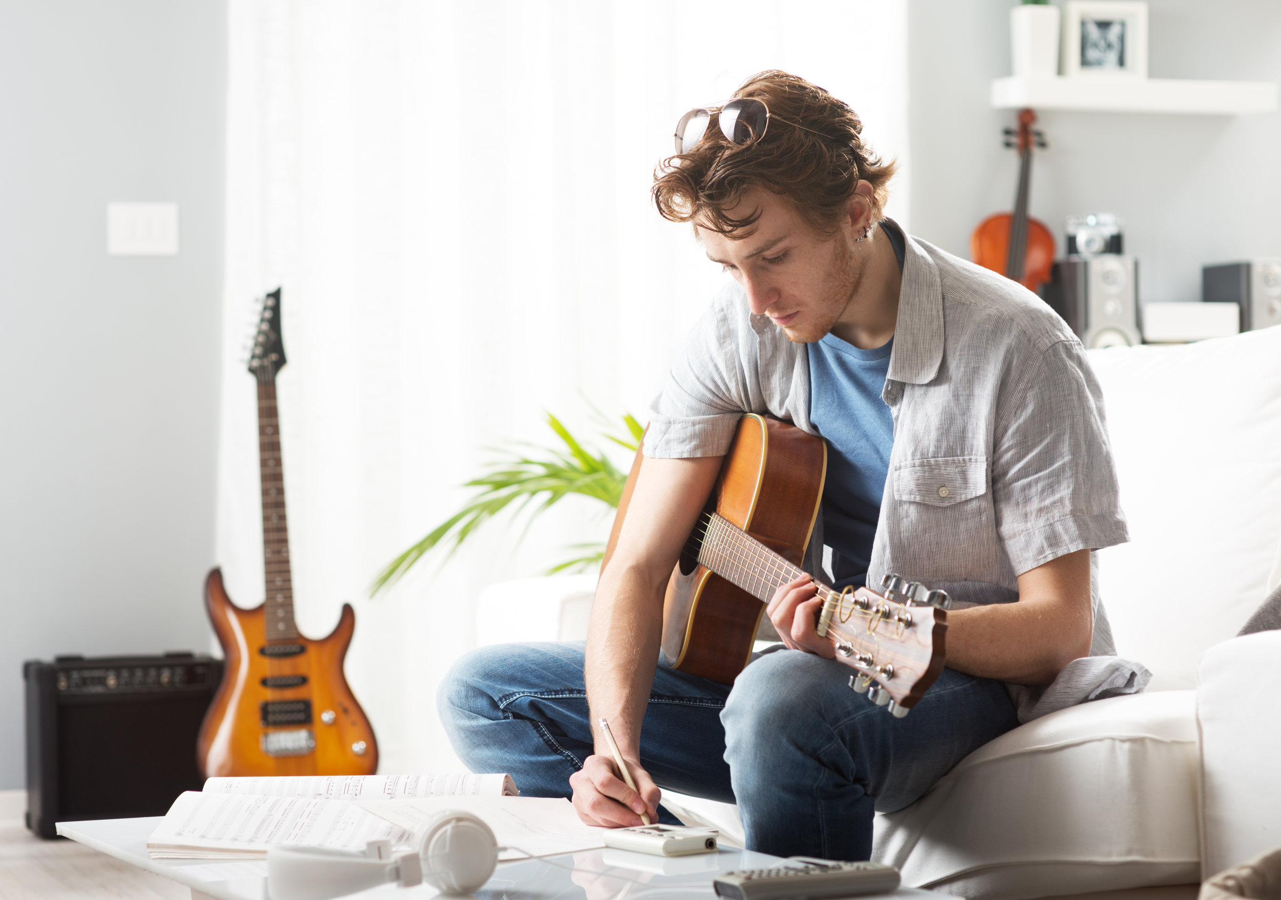 Write better songs, find producers, or become their own producer