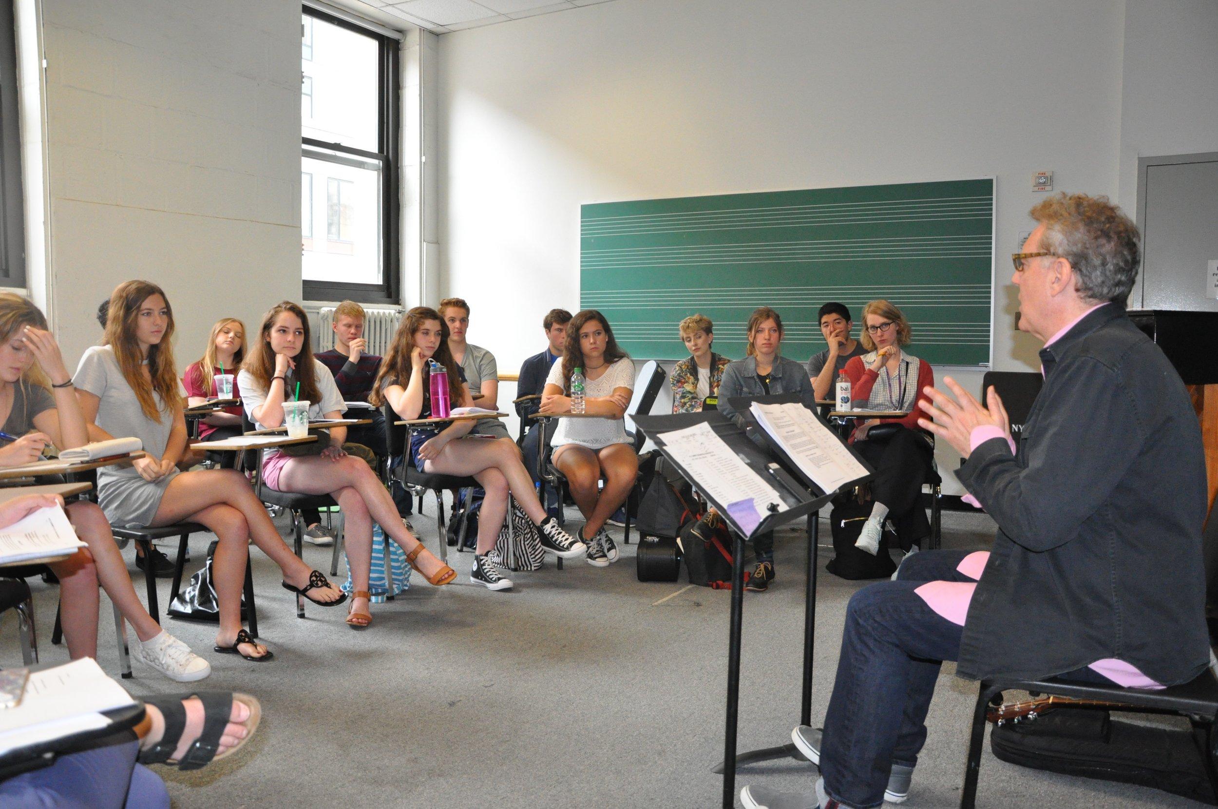Training in Advanced Songcraft