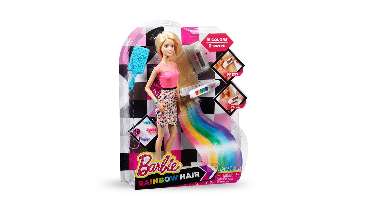 RAINBOW HAIR BARBIE