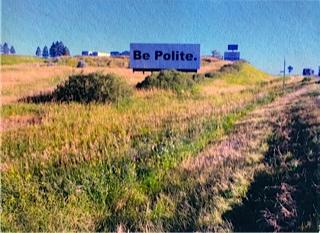On the outskirts of Minot, North Dakota     Photo taken by Carol Berlin