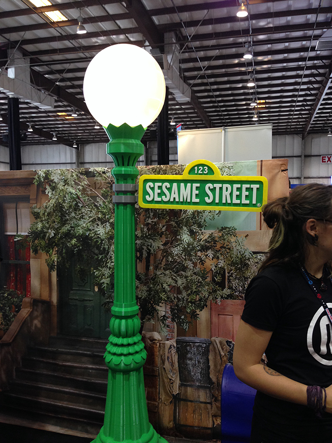 Makerbot recently announced their partnership with the Sesame Street brand. A very impressive 3D print of the iconic sign!