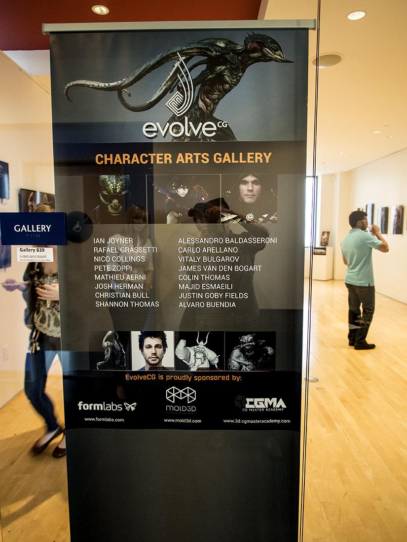 The Artist lineup.