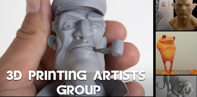 3d printing artists