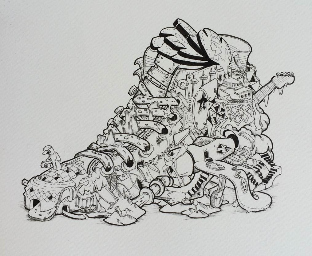 Damilola Odusote's concept artwork.